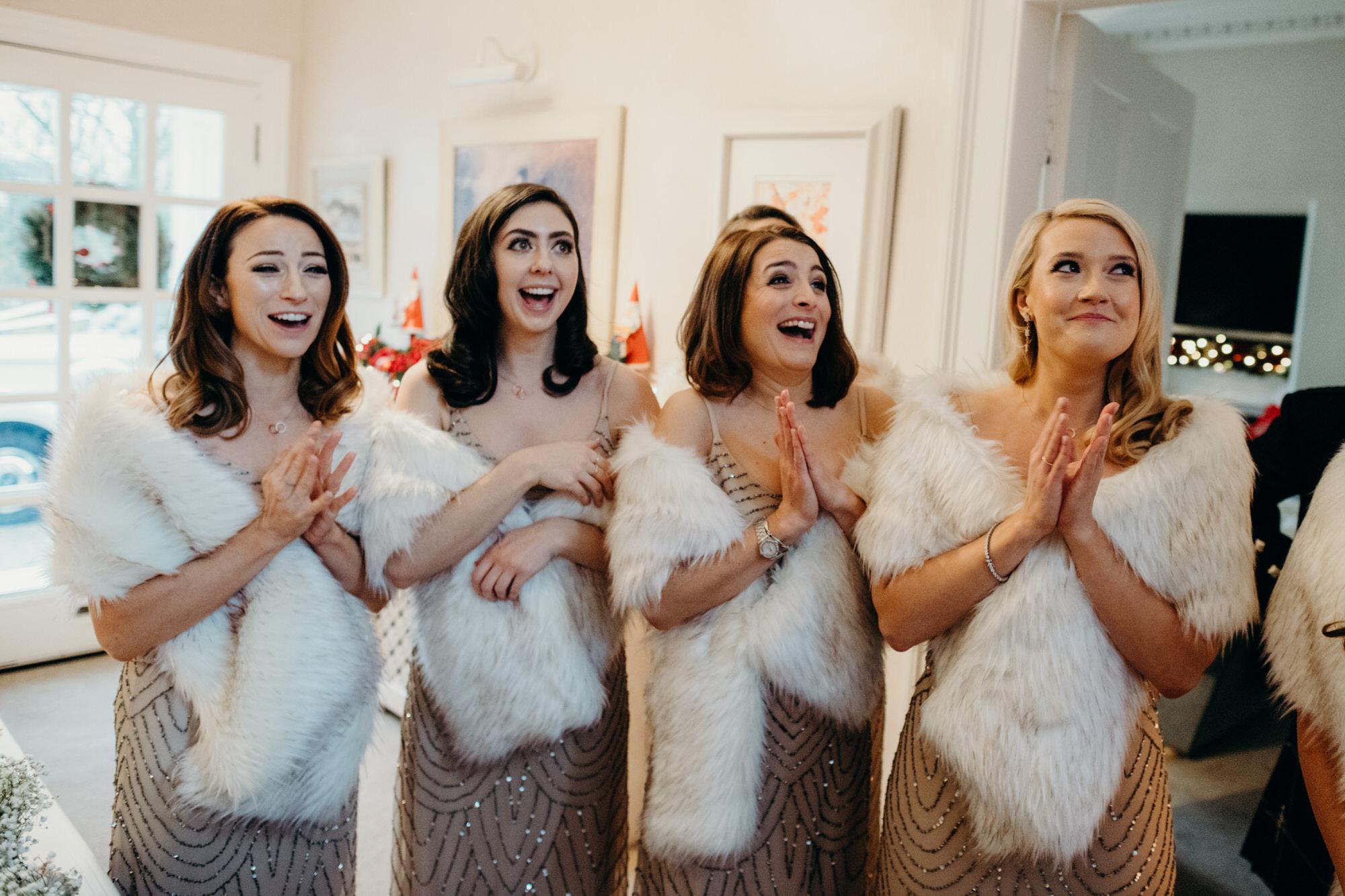 Bridesmaids in Glasgow