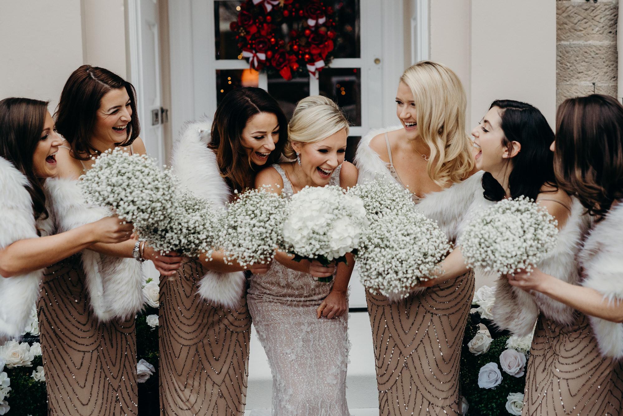 Glasgow bridal squad