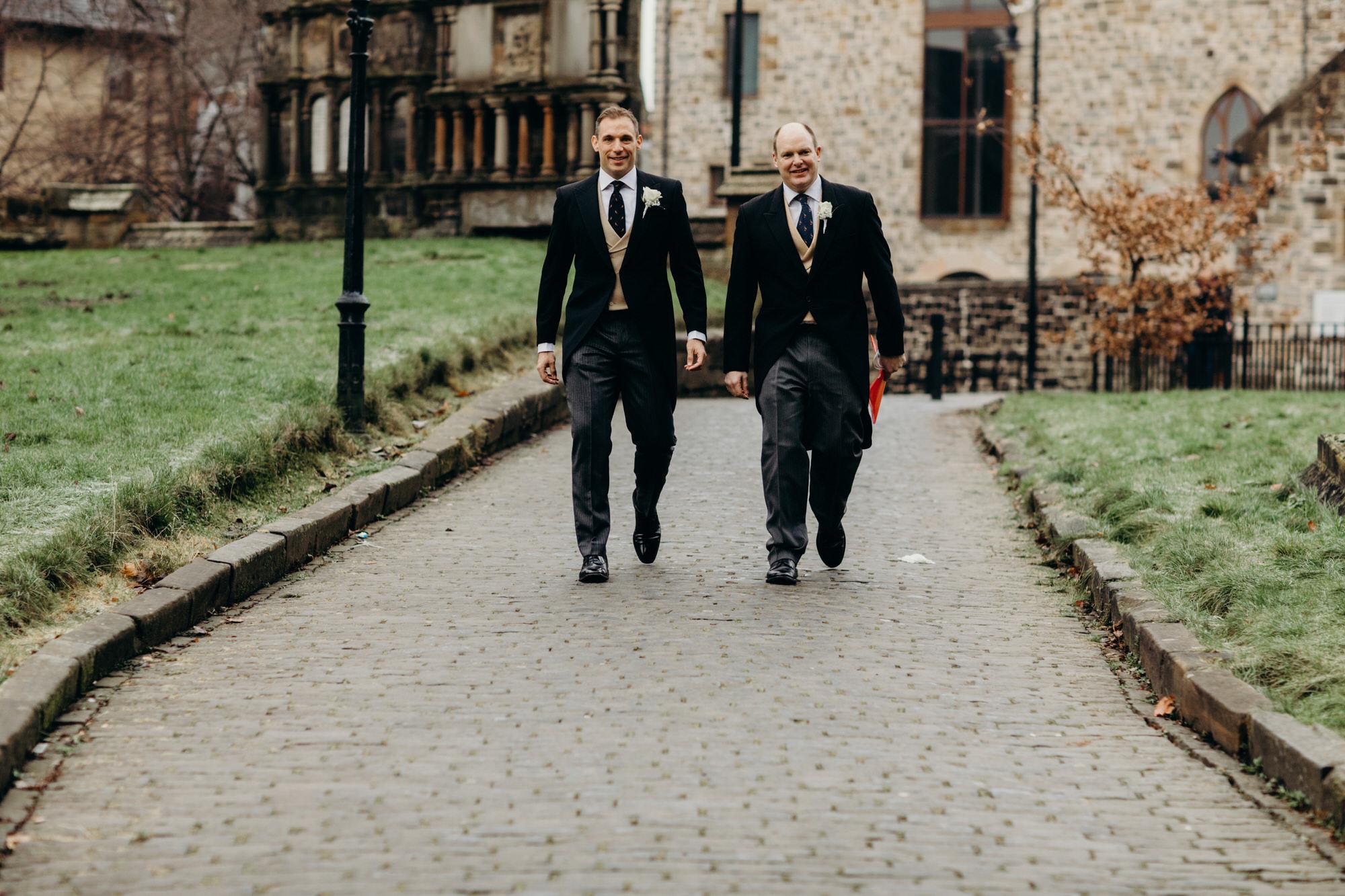 Glasgow wedding groomsmen