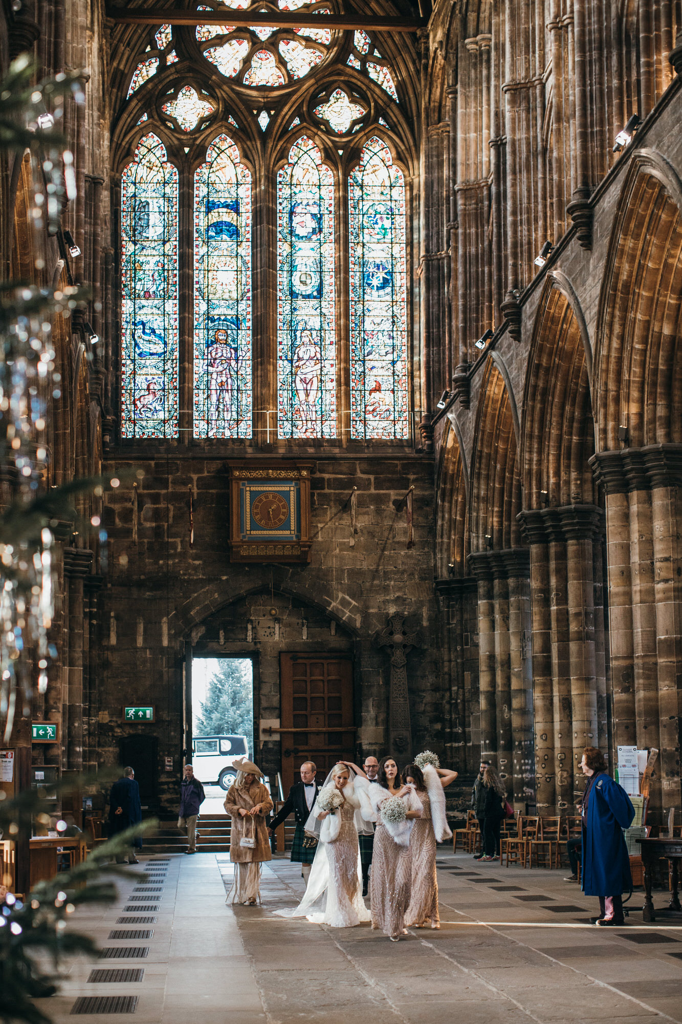 Glasgow Cathedral wedding photographer