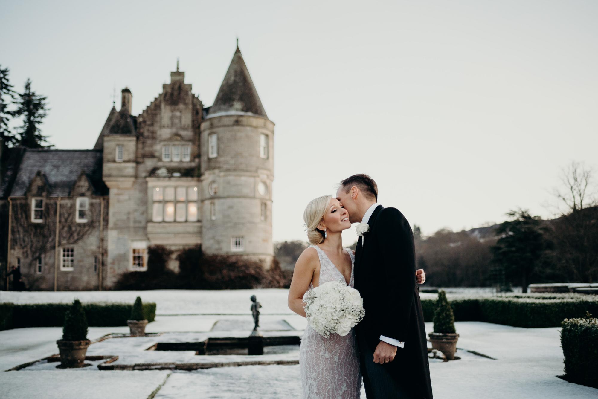 Duntreath Castle Scotland wedding