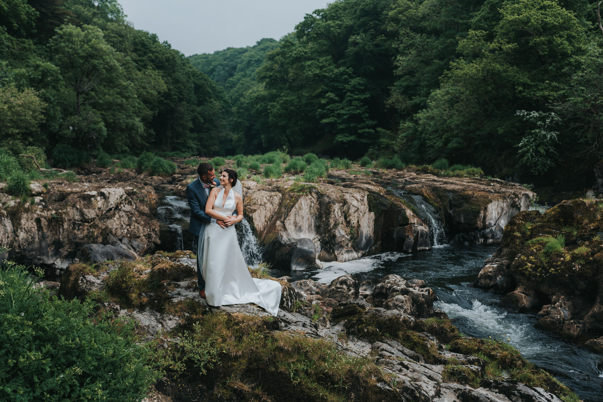 Emlyn hotel wales wedding photographer 10