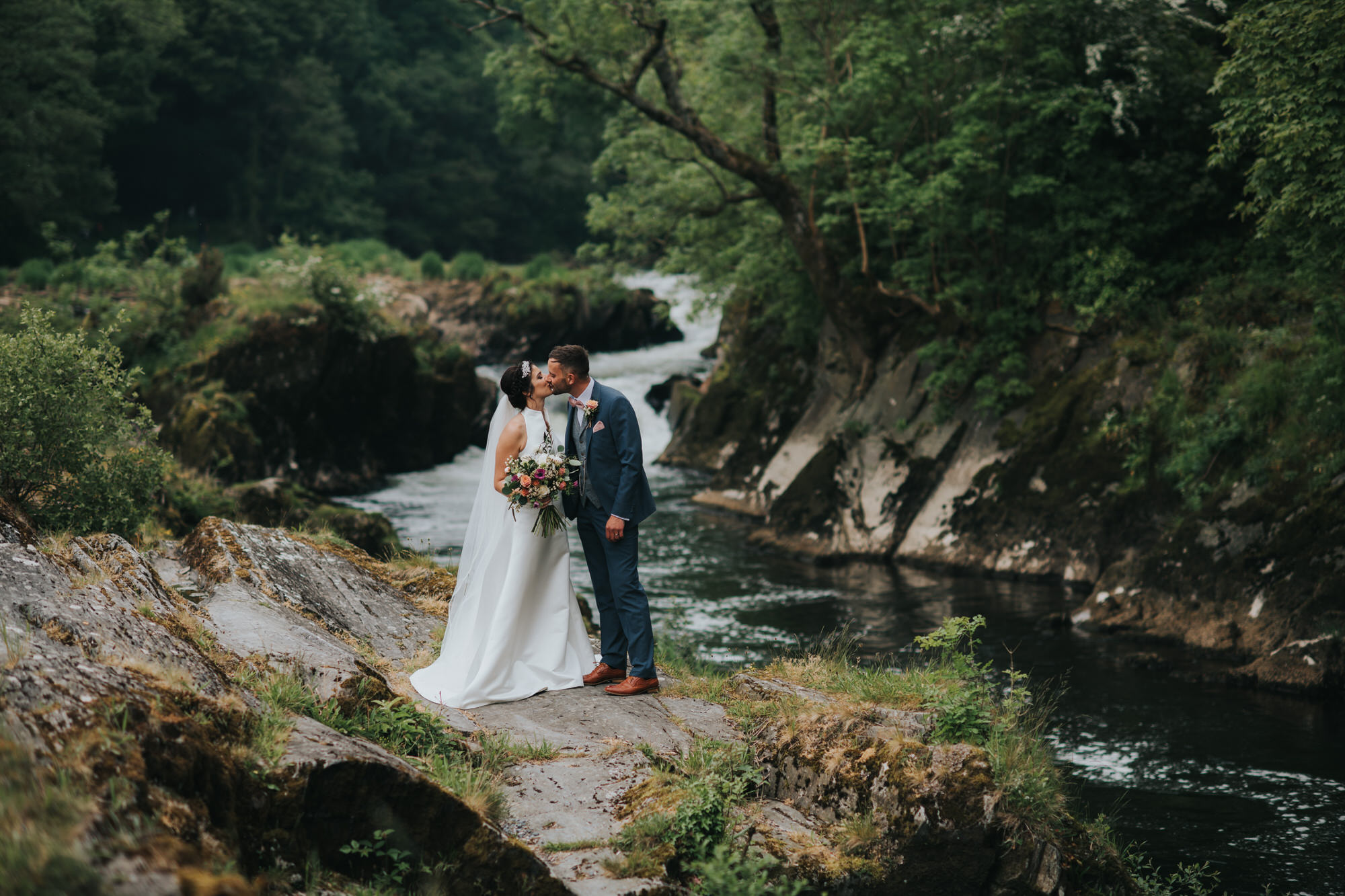 Emlyn hotel wales wedding photographer 16