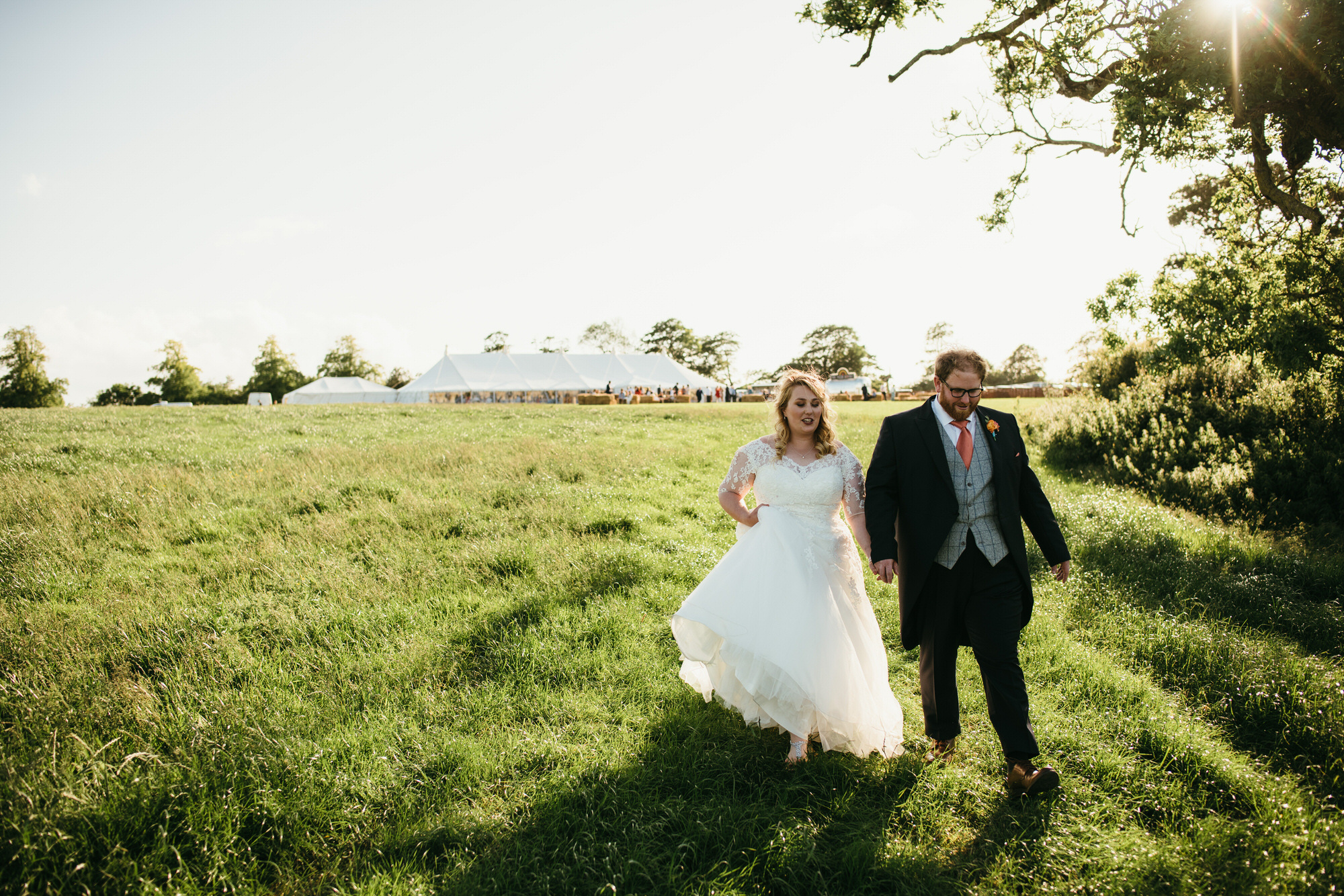 Somerset farm wedding photographer 1