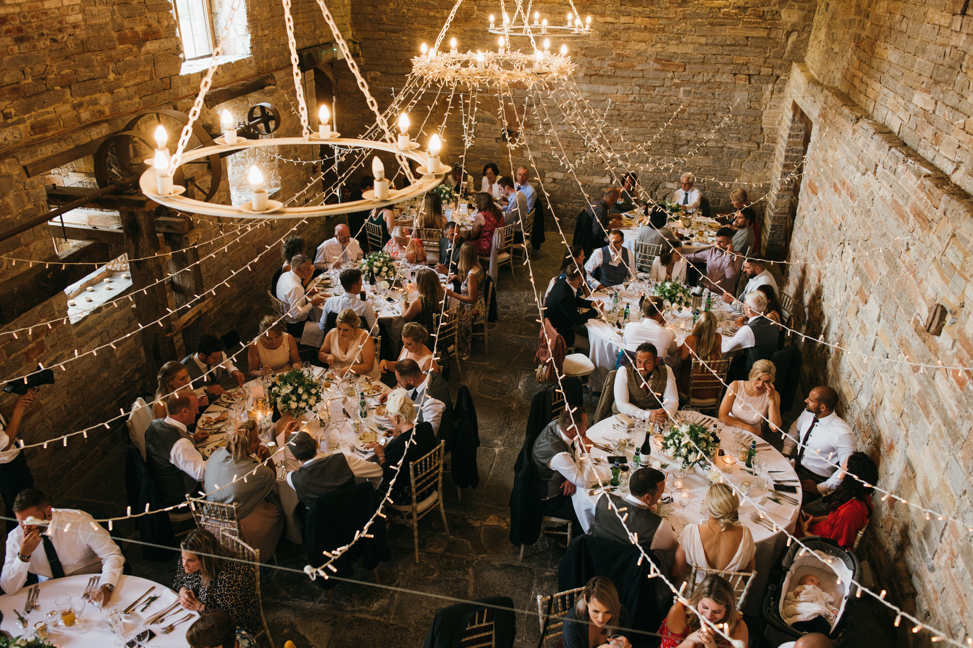 Almonry barn wedding breakfast