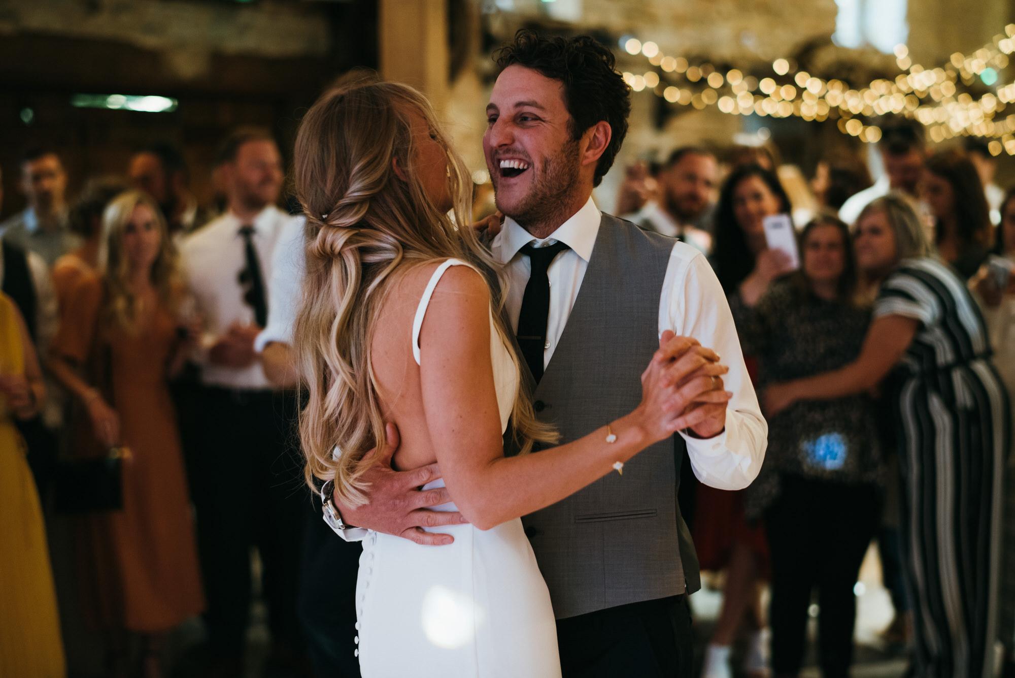 First dance almonry barn wedding