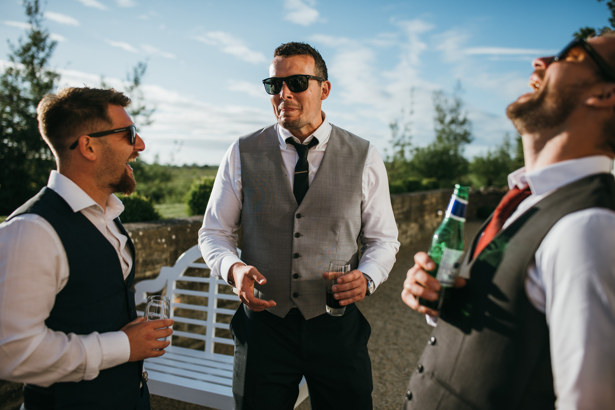Almonry barn wedding photographer 9