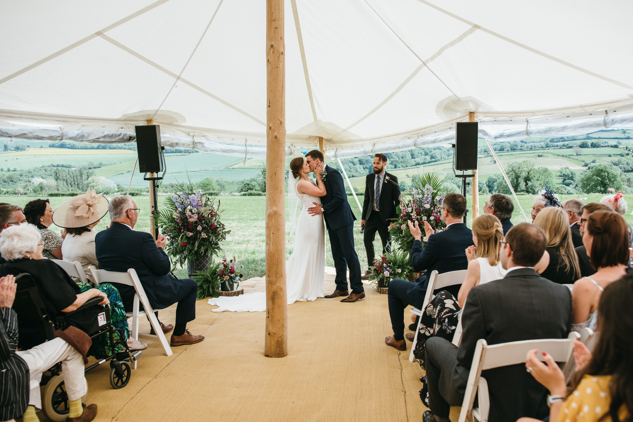 Outdoor somerset wedding photographer 6