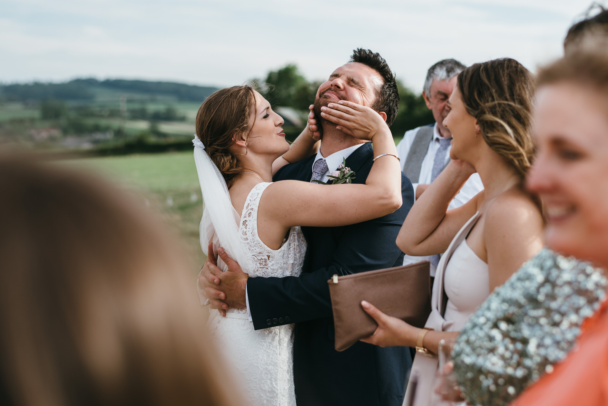 Outdoor somerset wedding photographer 69