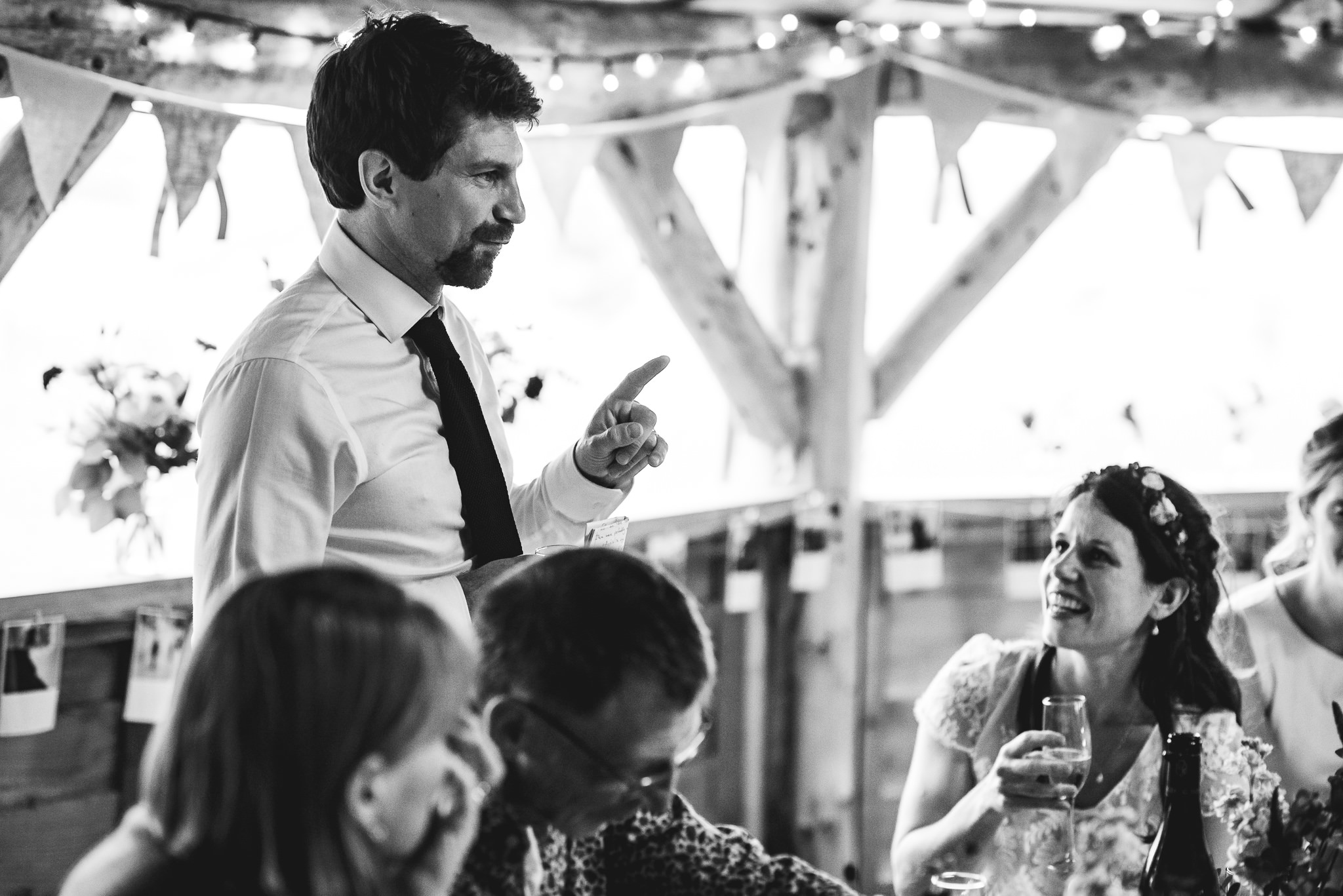 Farm camp Bath wedding speeches
