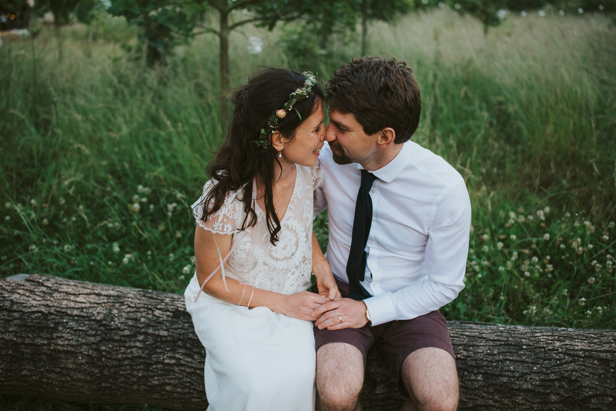 Unposed Farm Camp wedding photographer