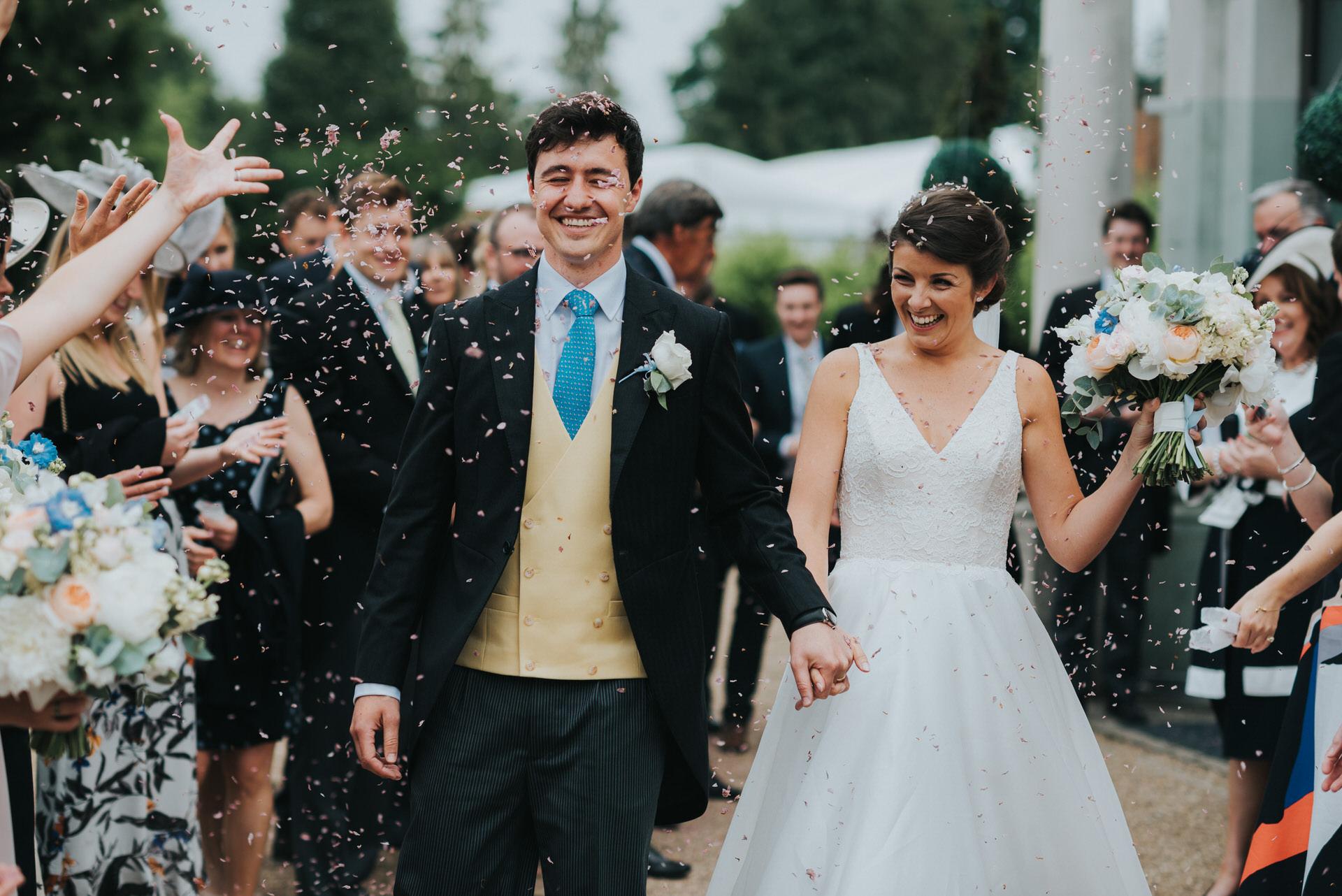 Oakley Hall  wedding photography