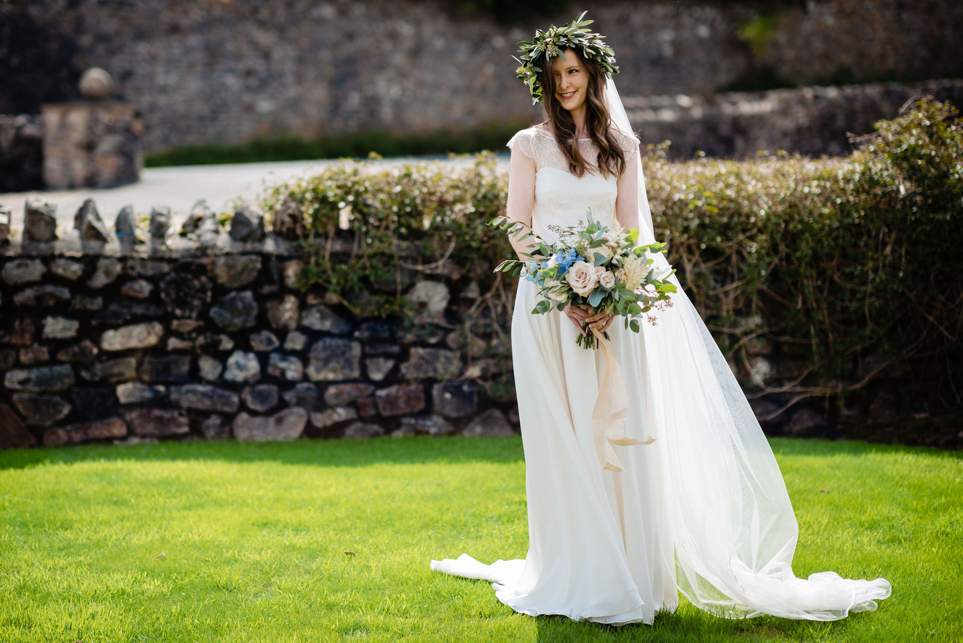 Pennard house somerset wedding photographer 3