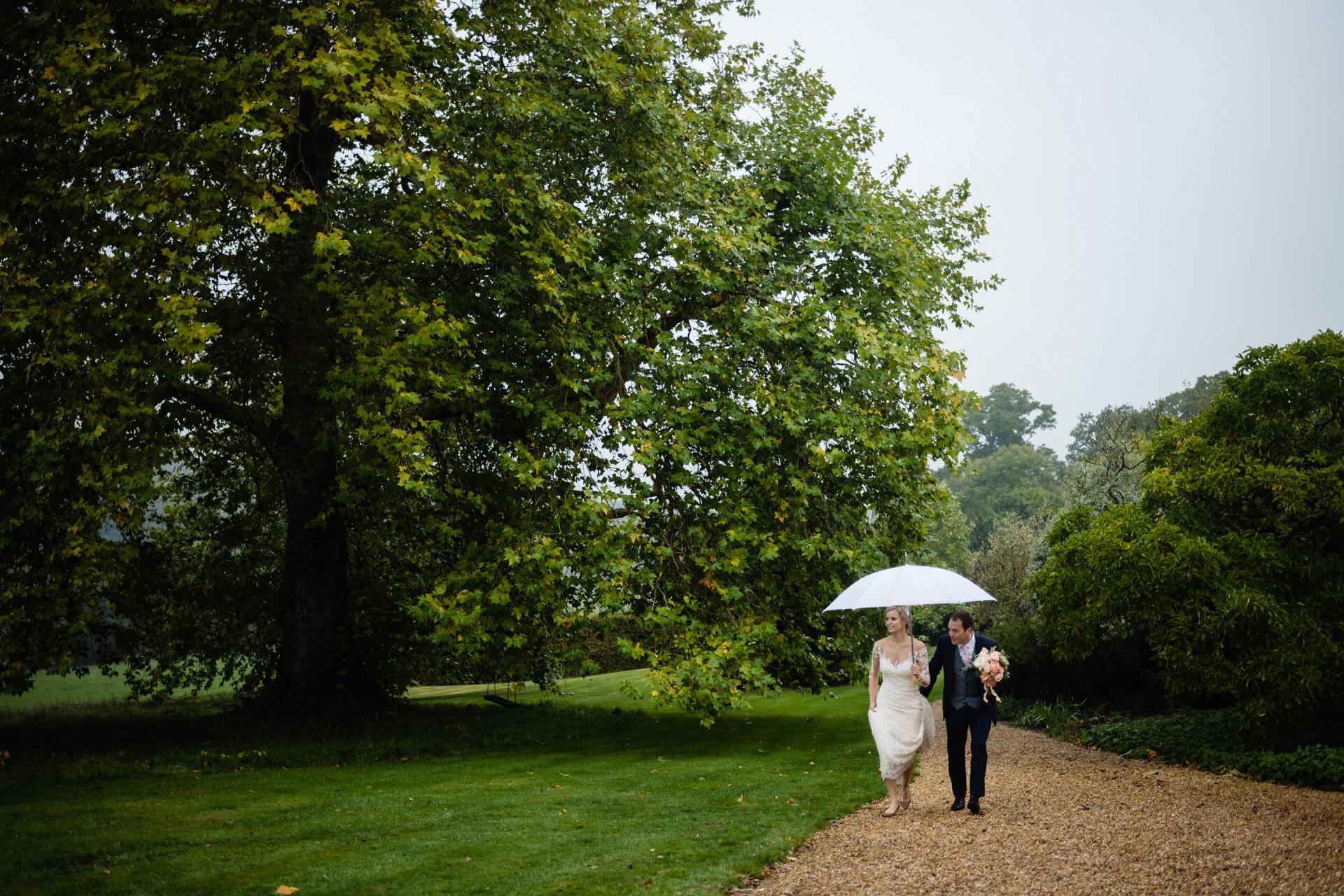 Bignor park wedding