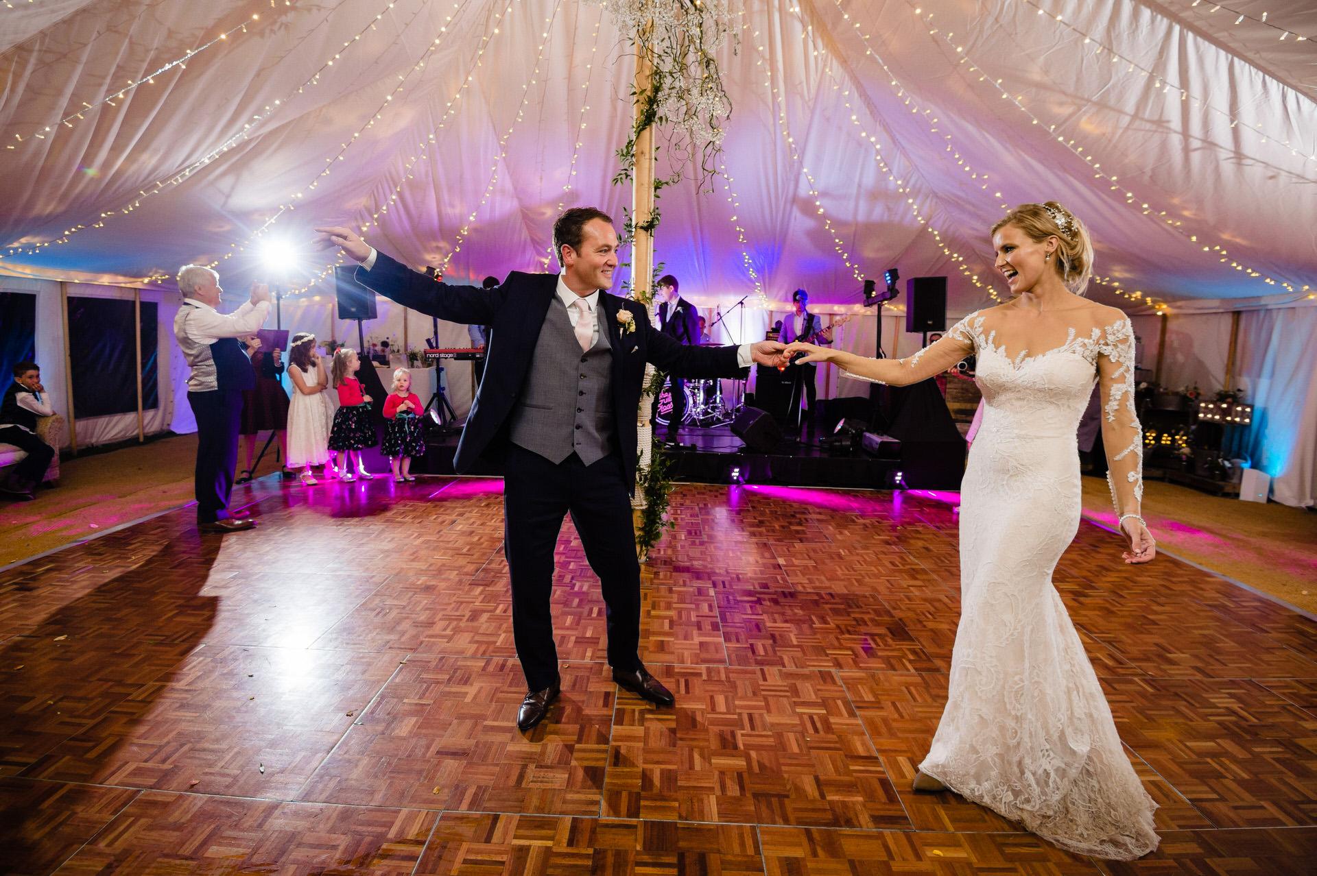 Bignor park first dance wedding