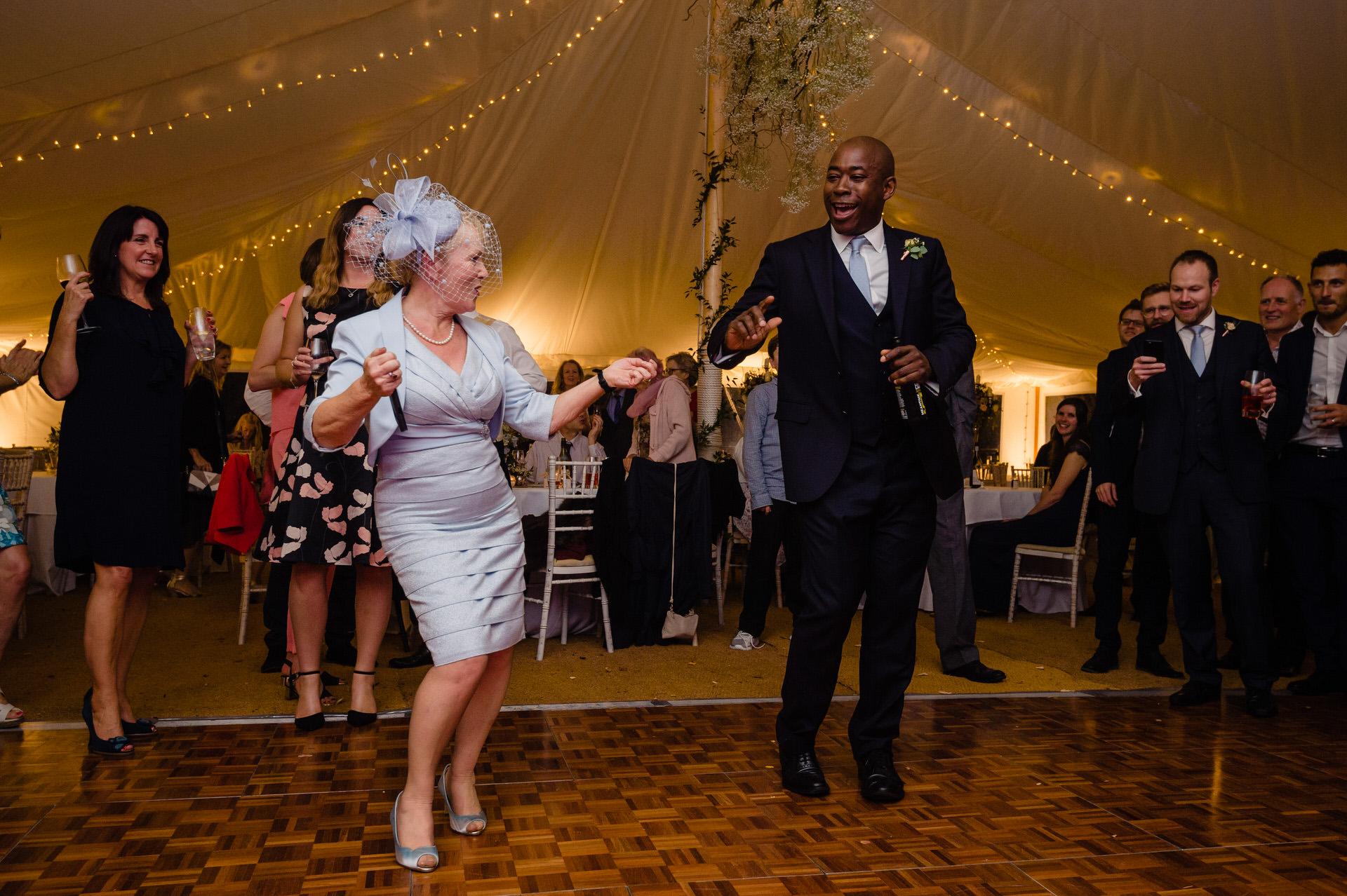 Bignor park wedding dancing