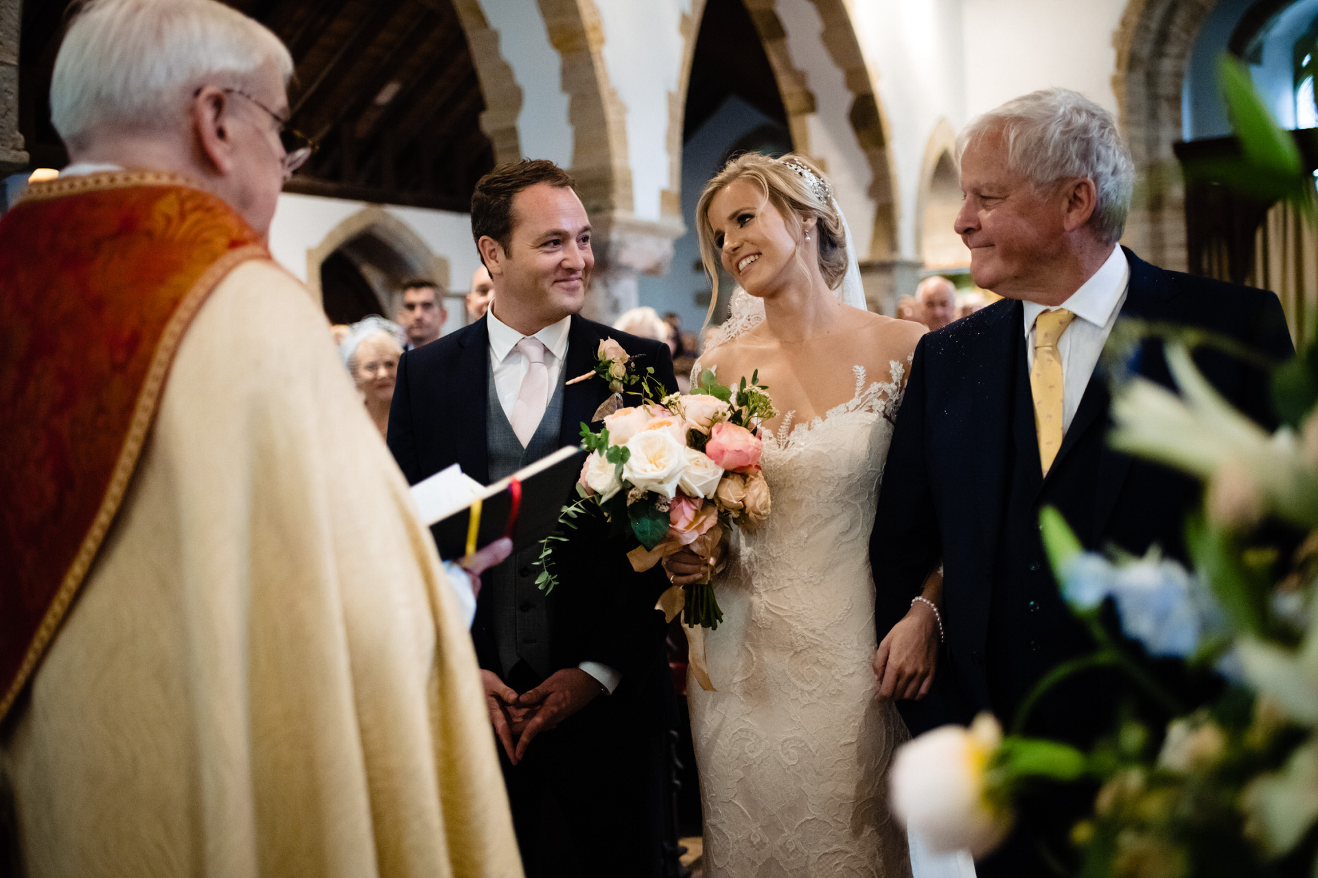 St John the Baptist Pulborough wedding ceremony