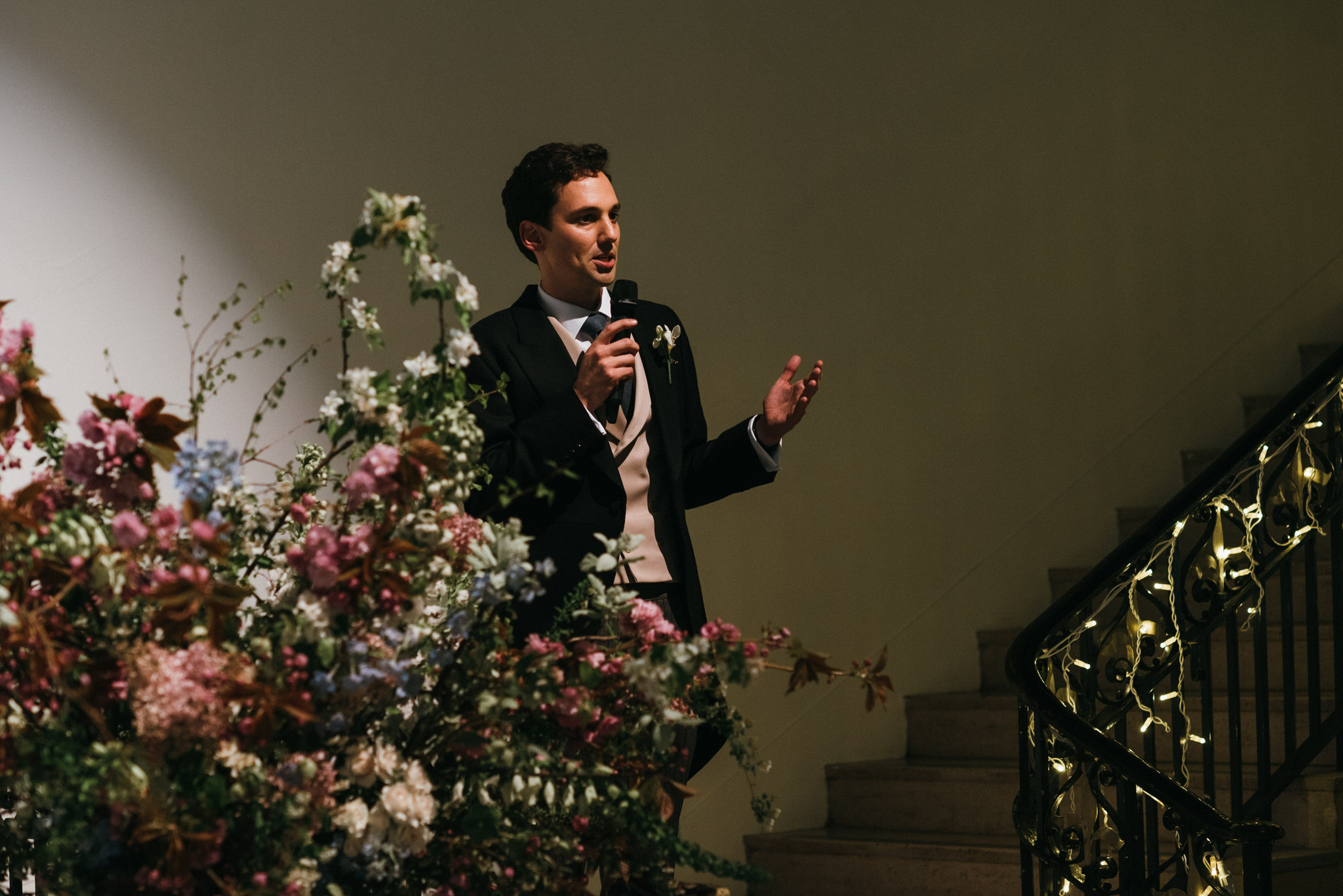 Speech at Sunbeam studios wedding