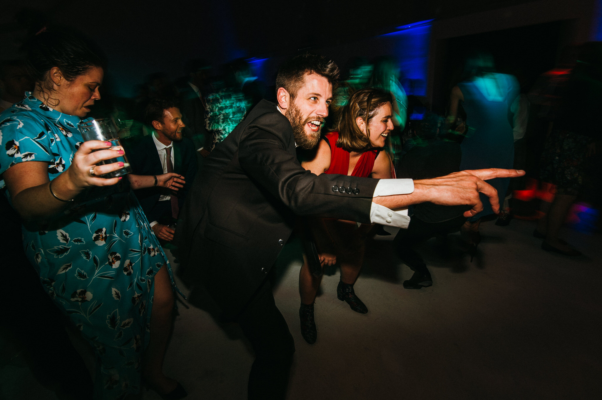 Dance floor Sunbeam wedding photographer