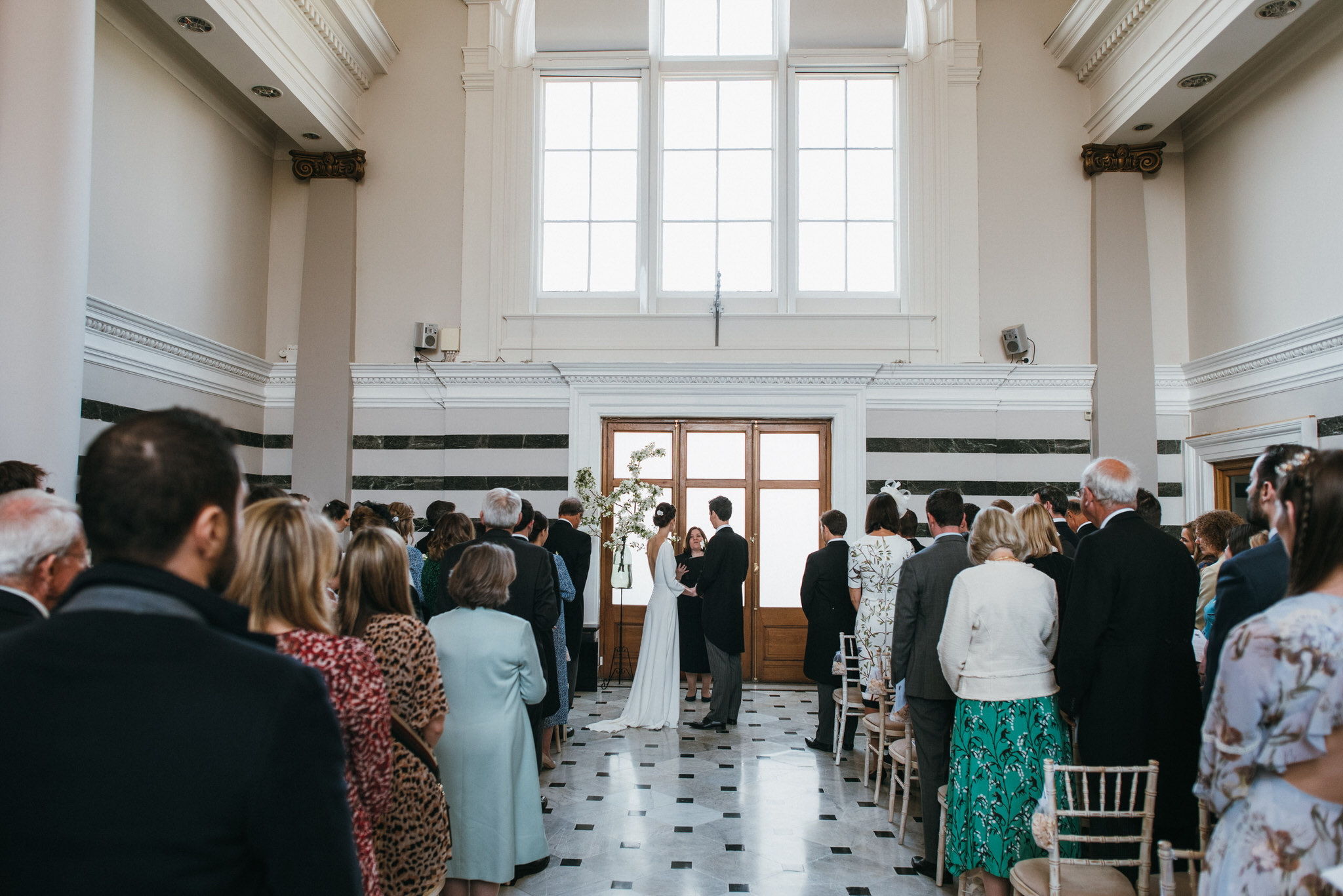 Sunbeam studios wedding ceremony