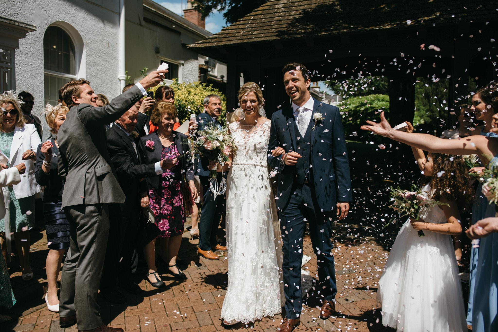 Devon church wedding photographer