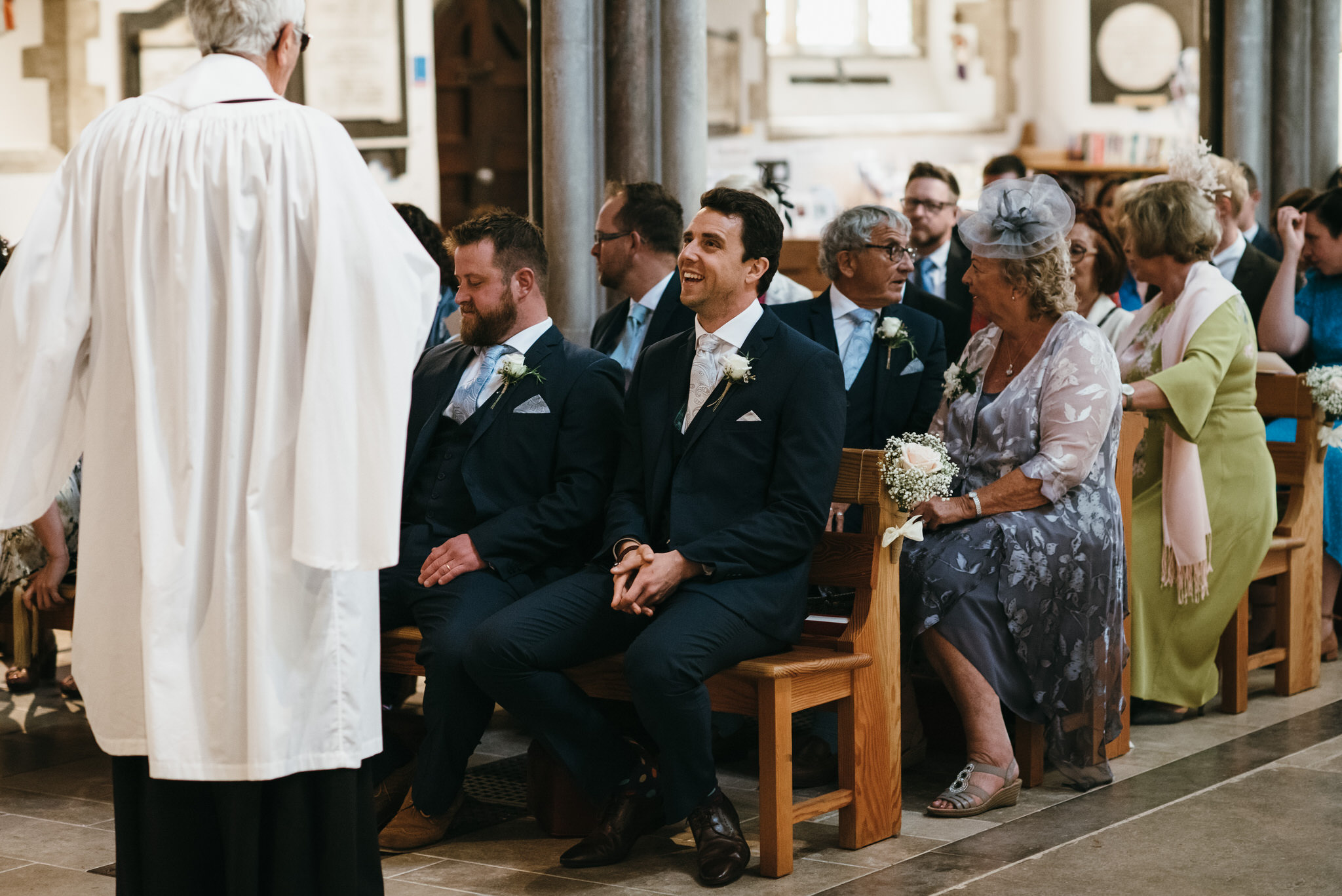 Sidmouth church wedding photography
