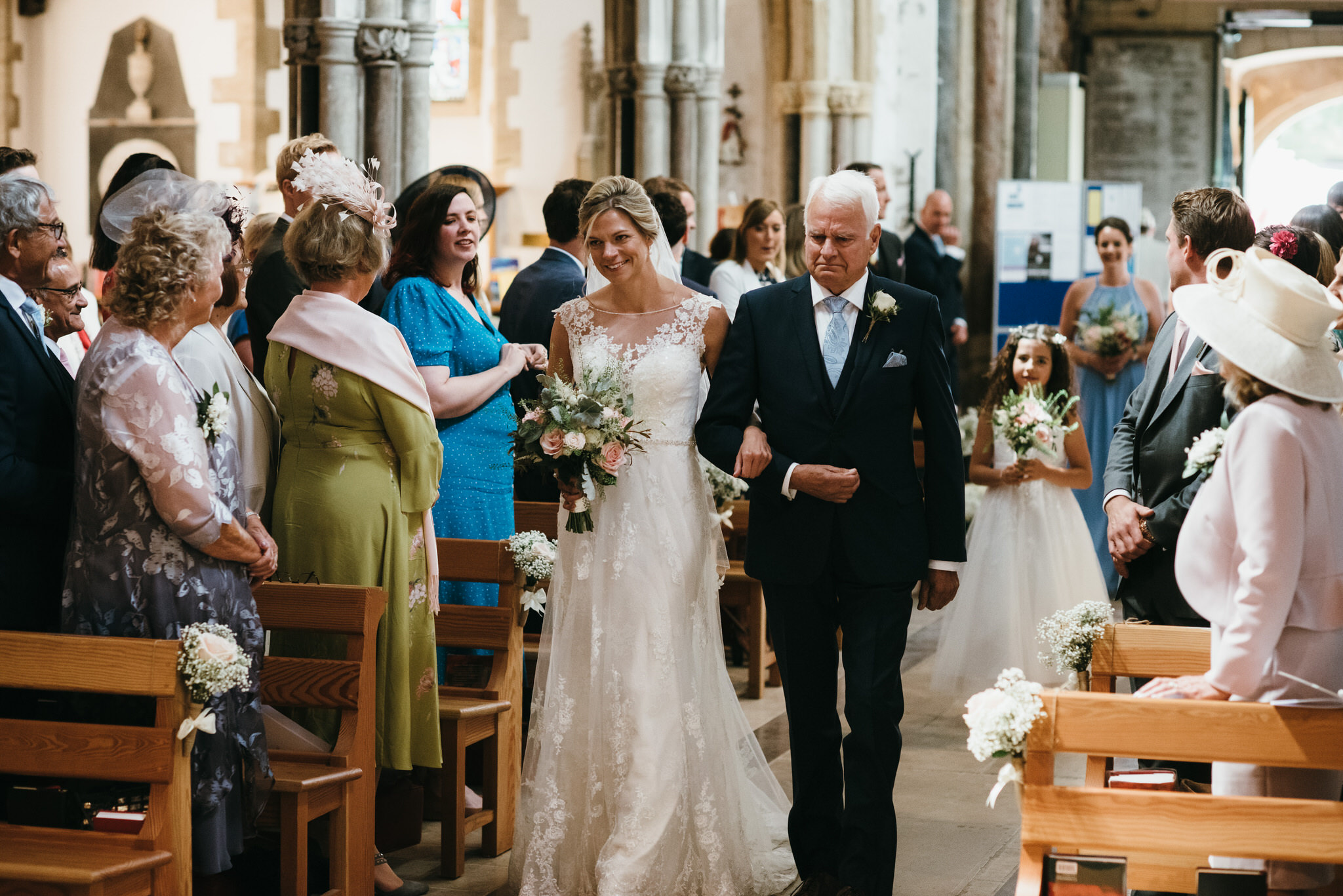 Sidmouth church wedding ceremony