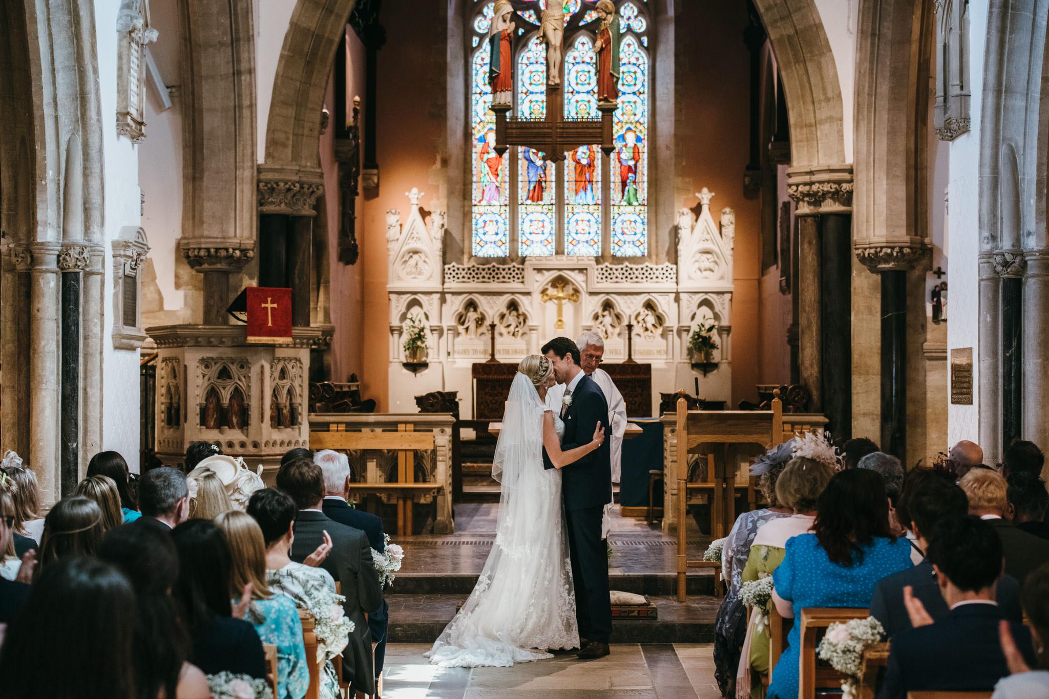 Sidmouth church wedding