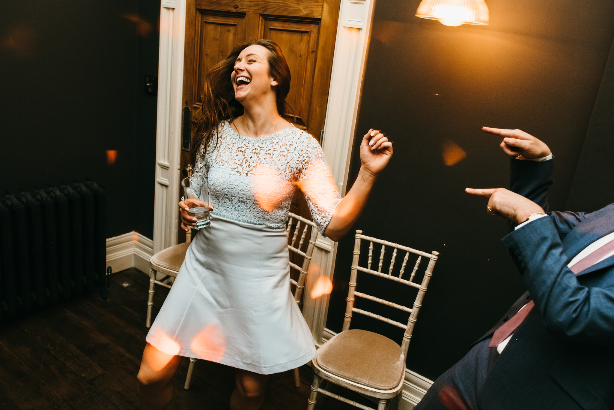 Backwell house wedding dancing