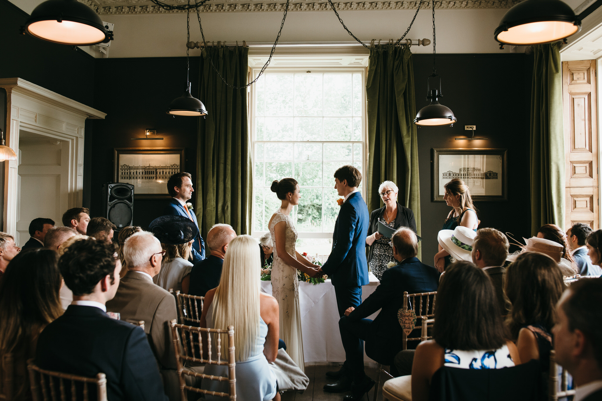 Backwell House wedding
