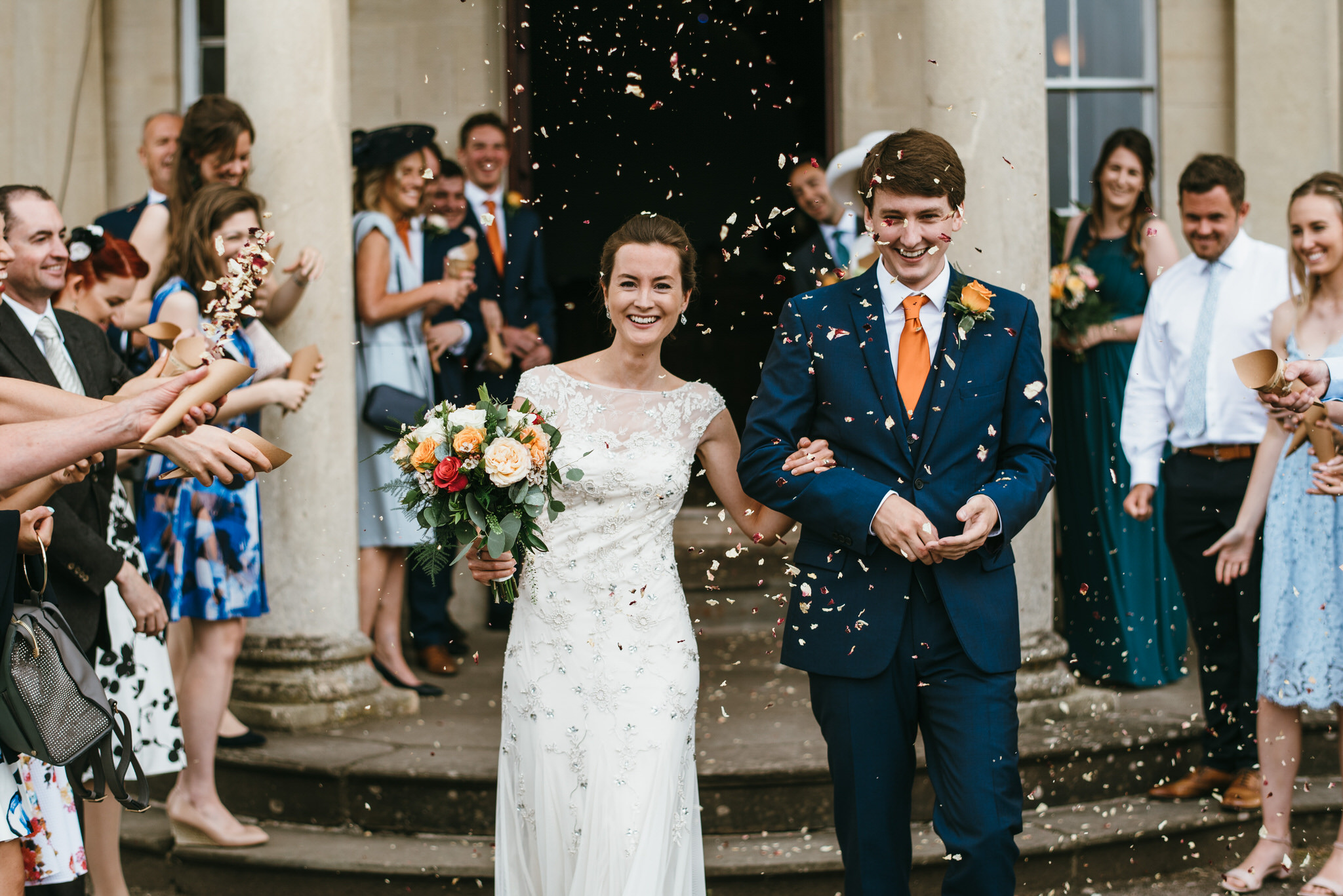 Backwell House confetti