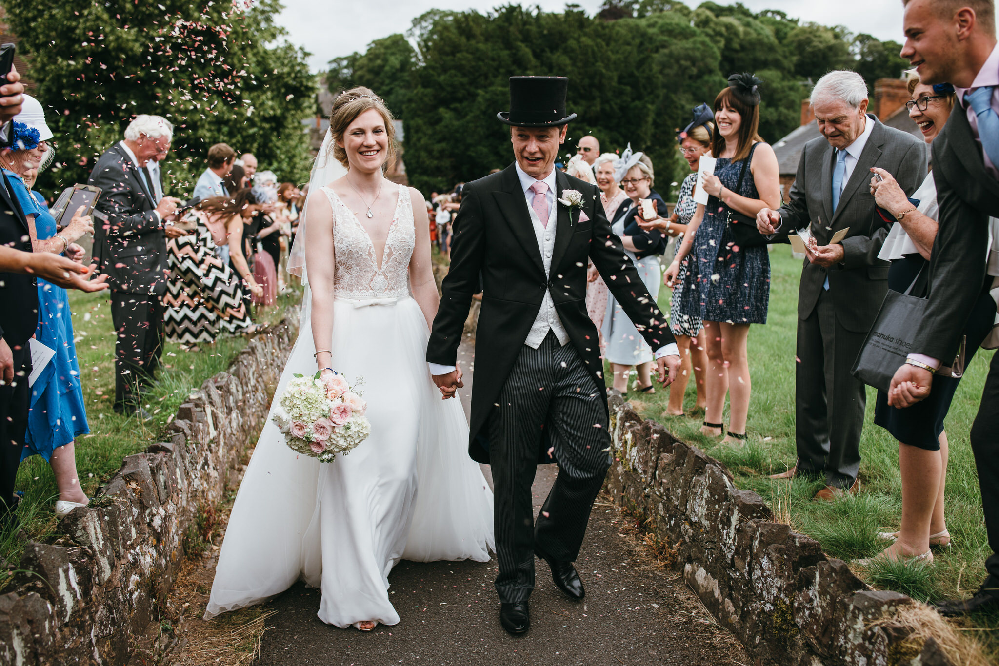 Dunster church wedding photographer