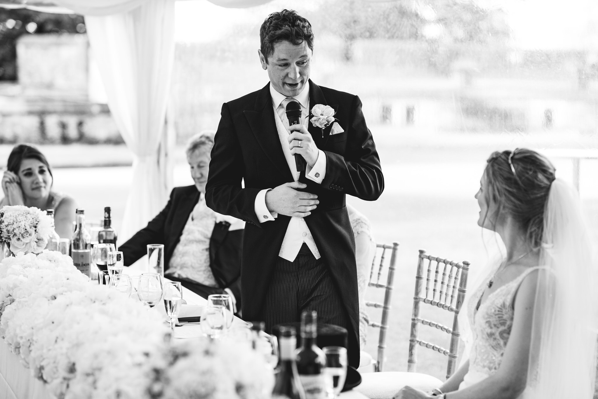 Dunster castle wedding speeches