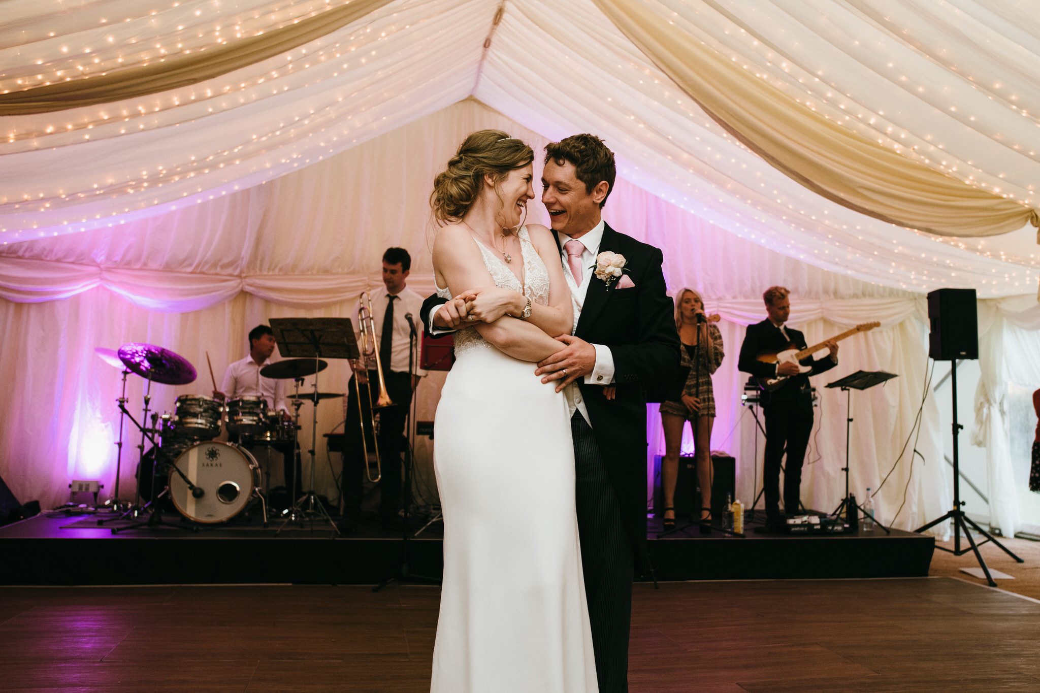 Dunster castle wedding first dance