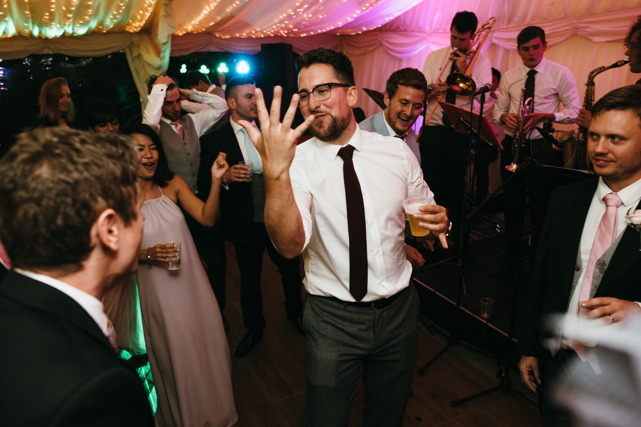 Dunster castle dancing wedding