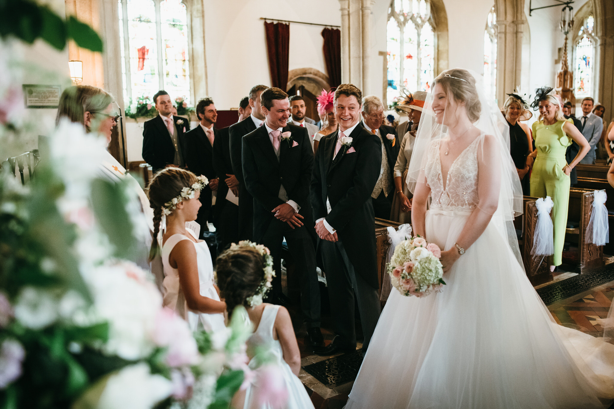 wedding photography Dunster church