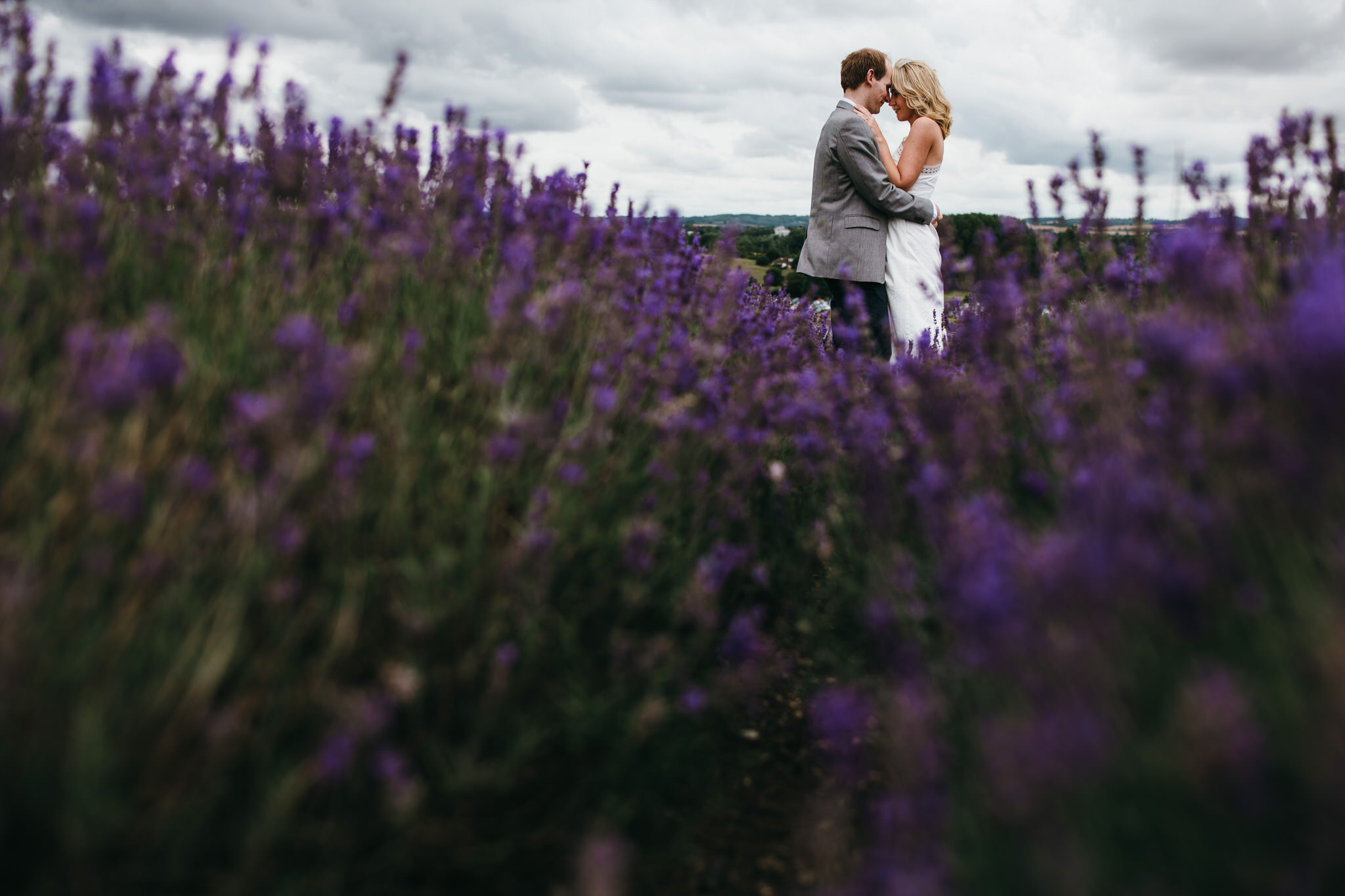 Engagement couple shoot hitchin lavender 10