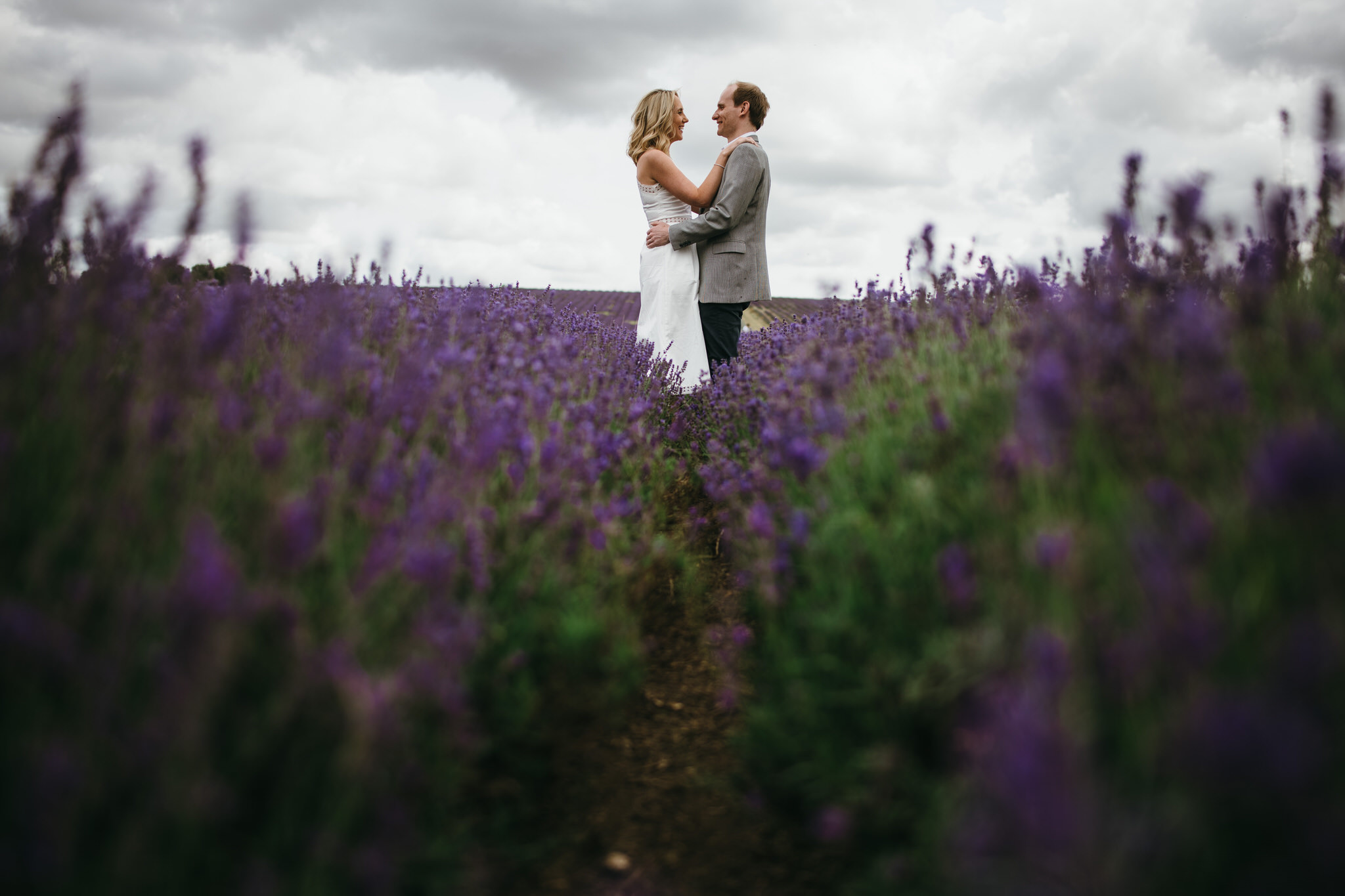 Engagement couple shoot hitchin lavender 3