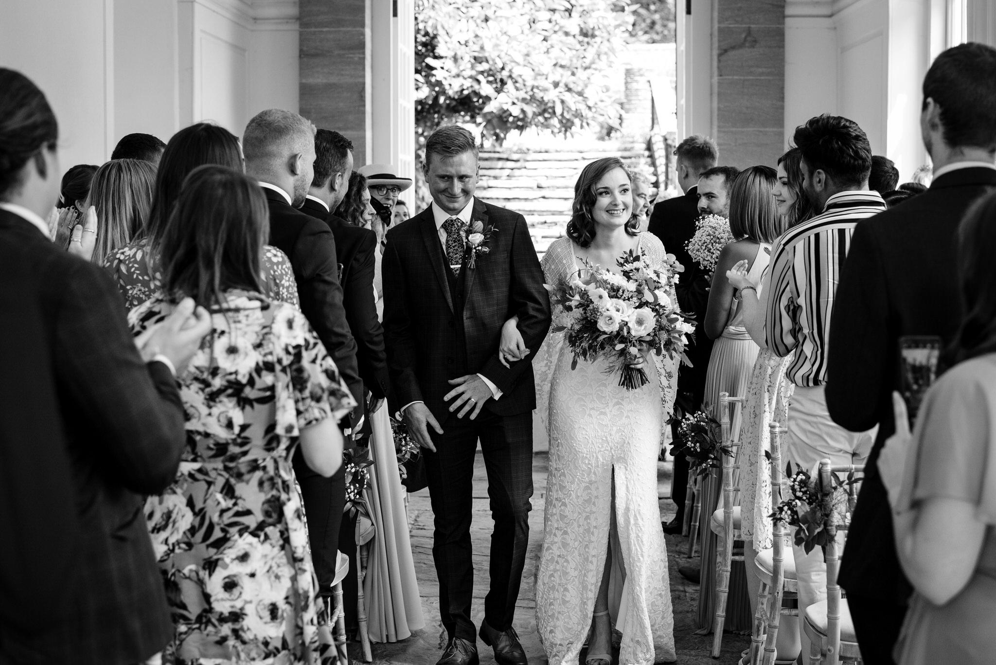 Hestercombe gardens wedding ceremony