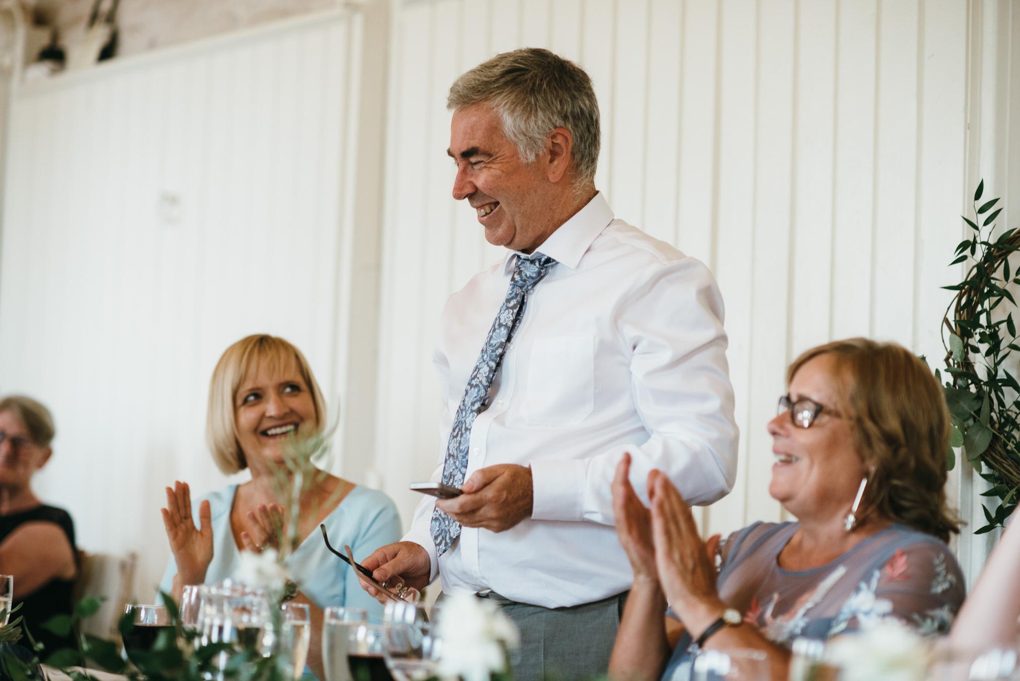 Hestercombe gardens wedding speeches