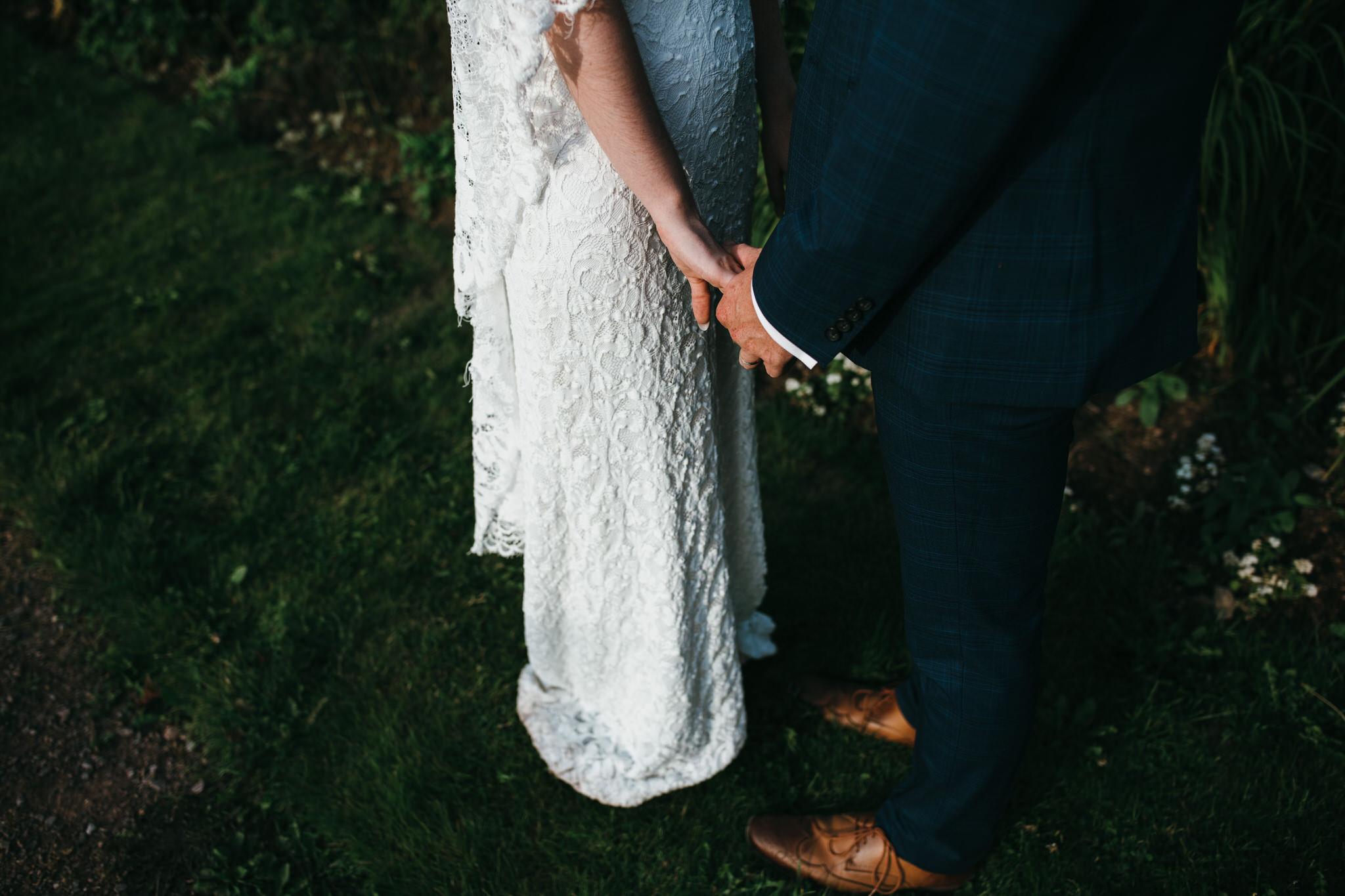 Hestercombe bride and groom