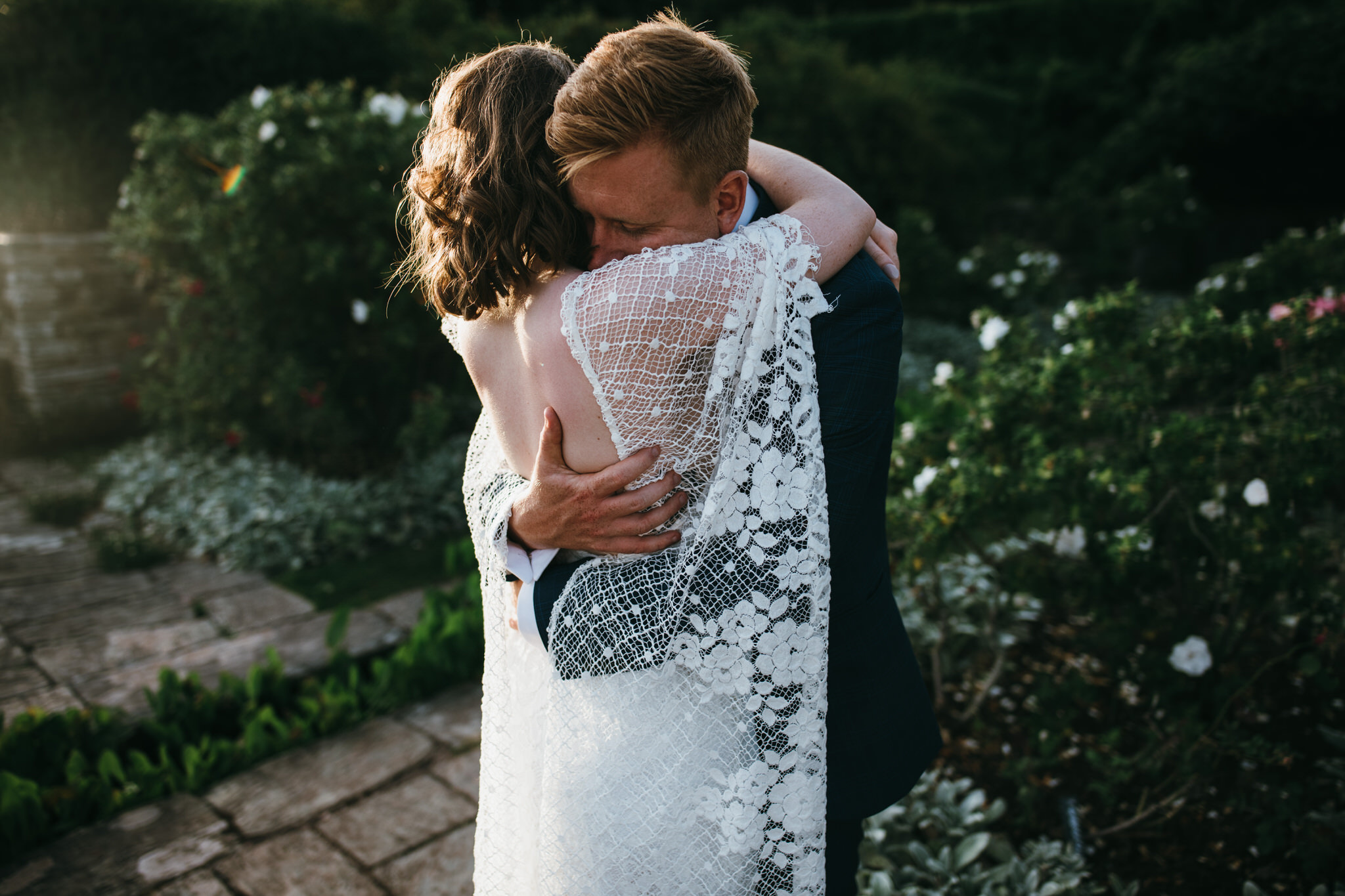 Bride and Groom at Hestercombe