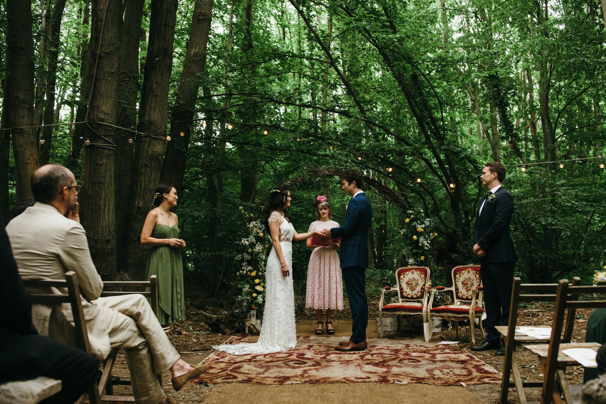 Samantha Kelsie humanist wedding ceremony