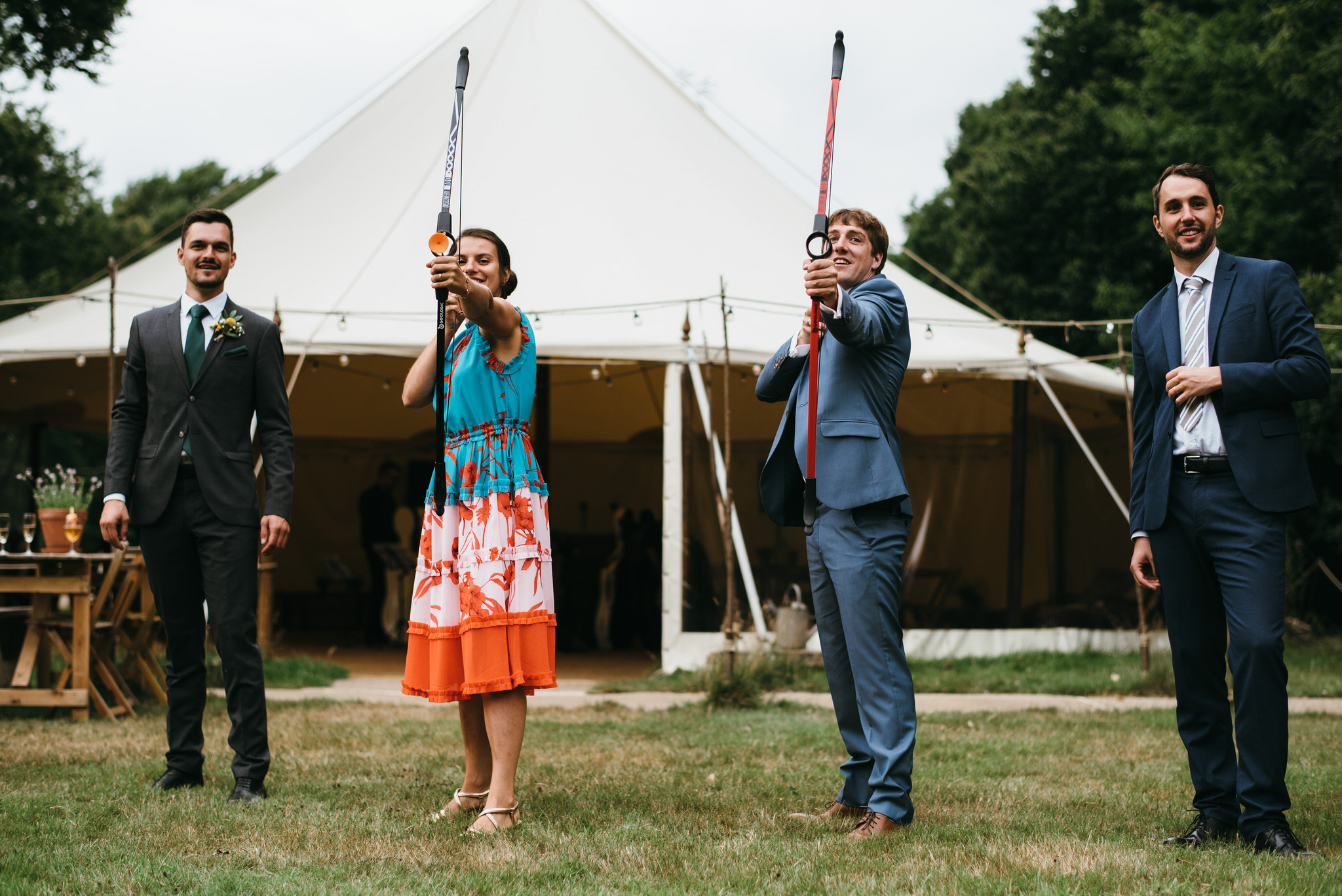The Dreys Kent wedding reception