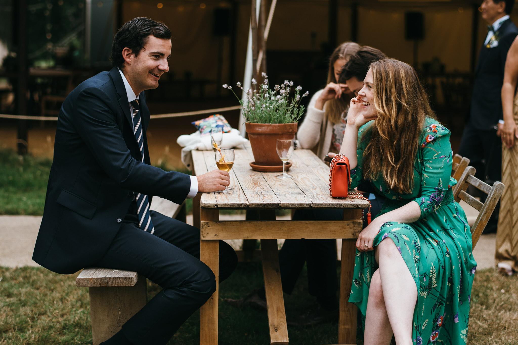 The Dreys wedding reception