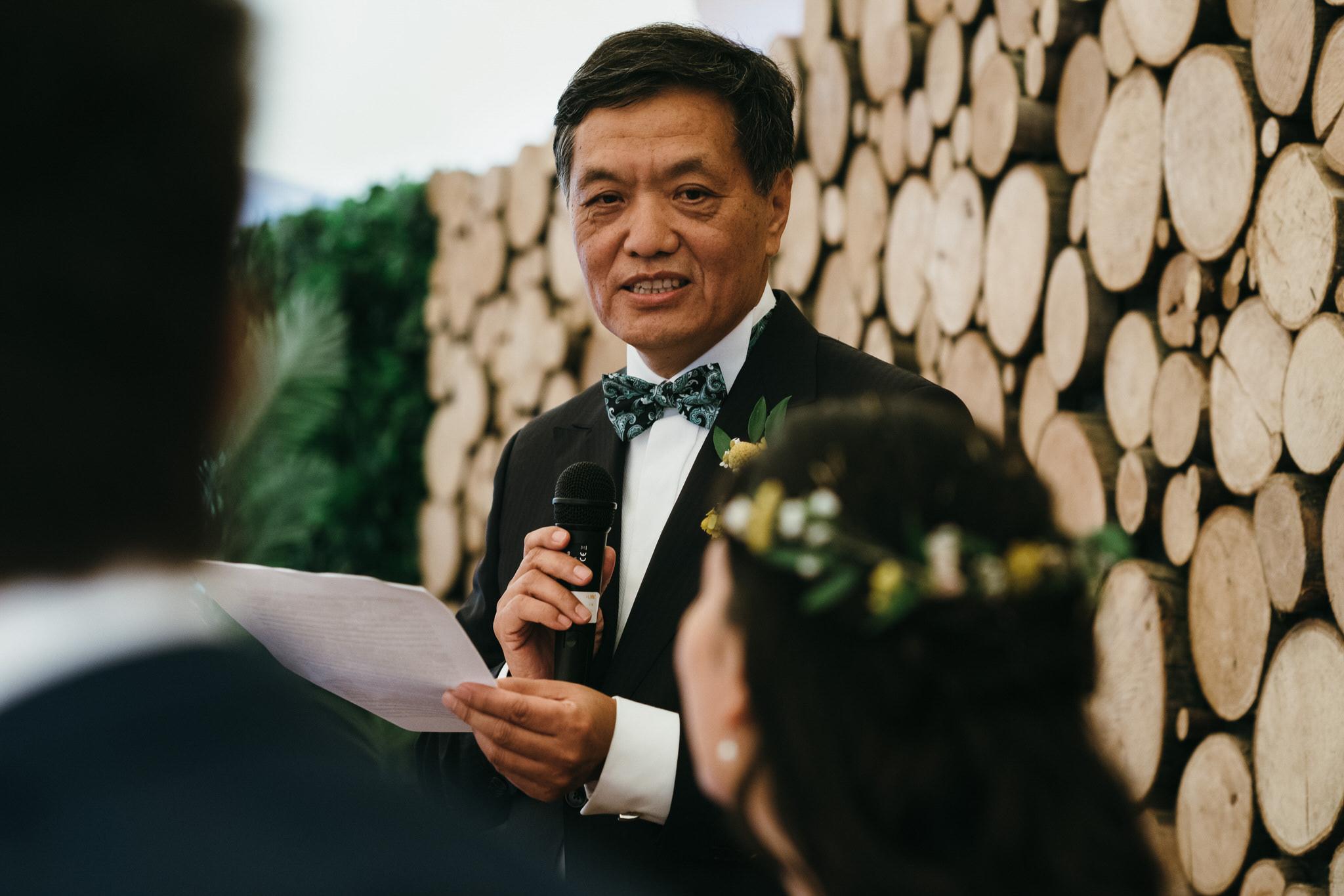 The Dreys Kent Wedding Groom Speech