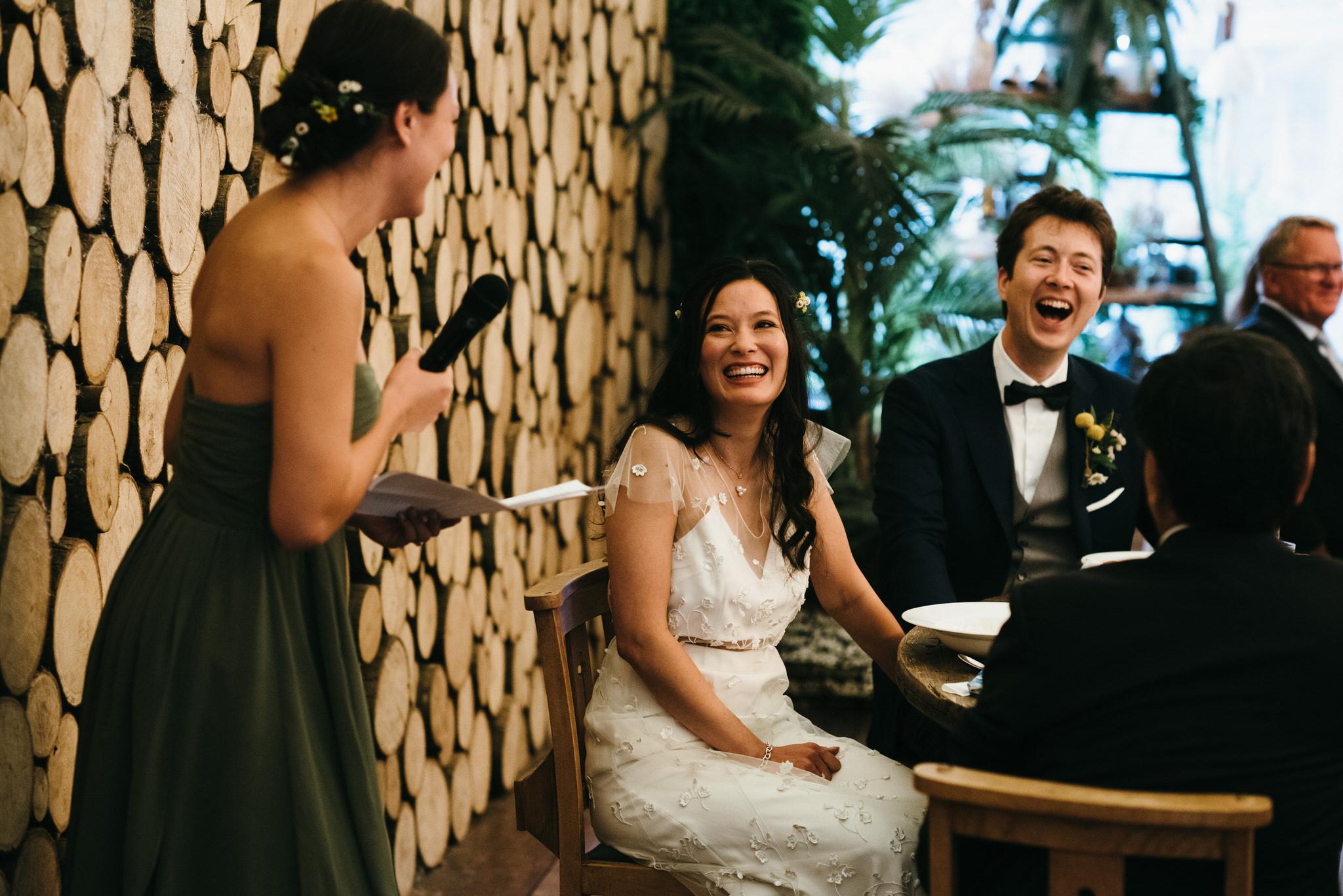 The Dreys Kent Wedding Speeches