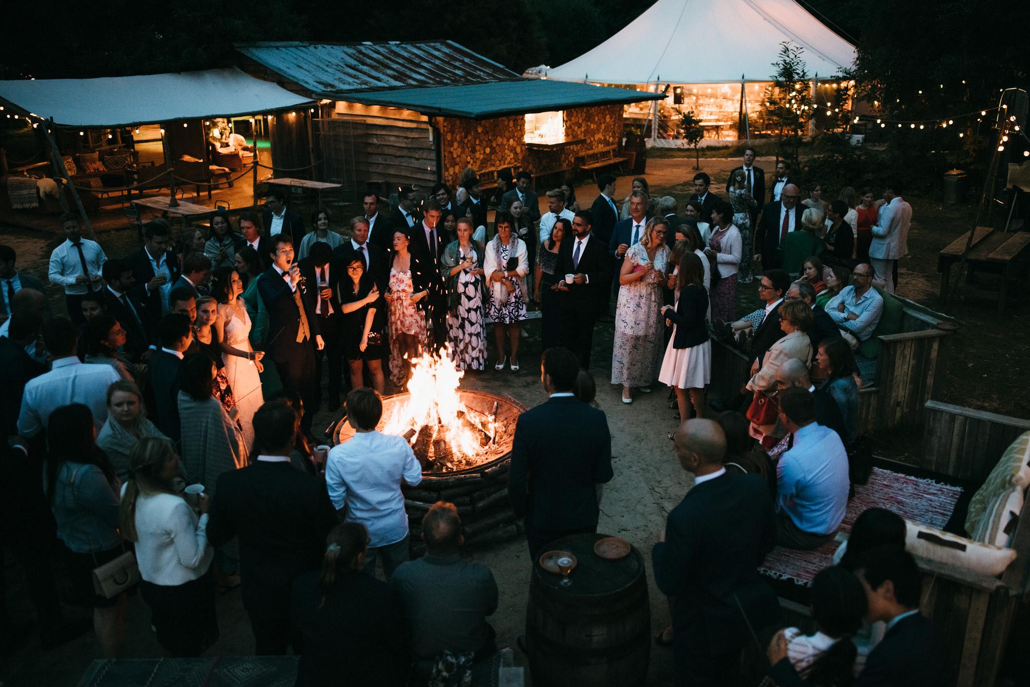 The dreys kent wedding sparklers photography