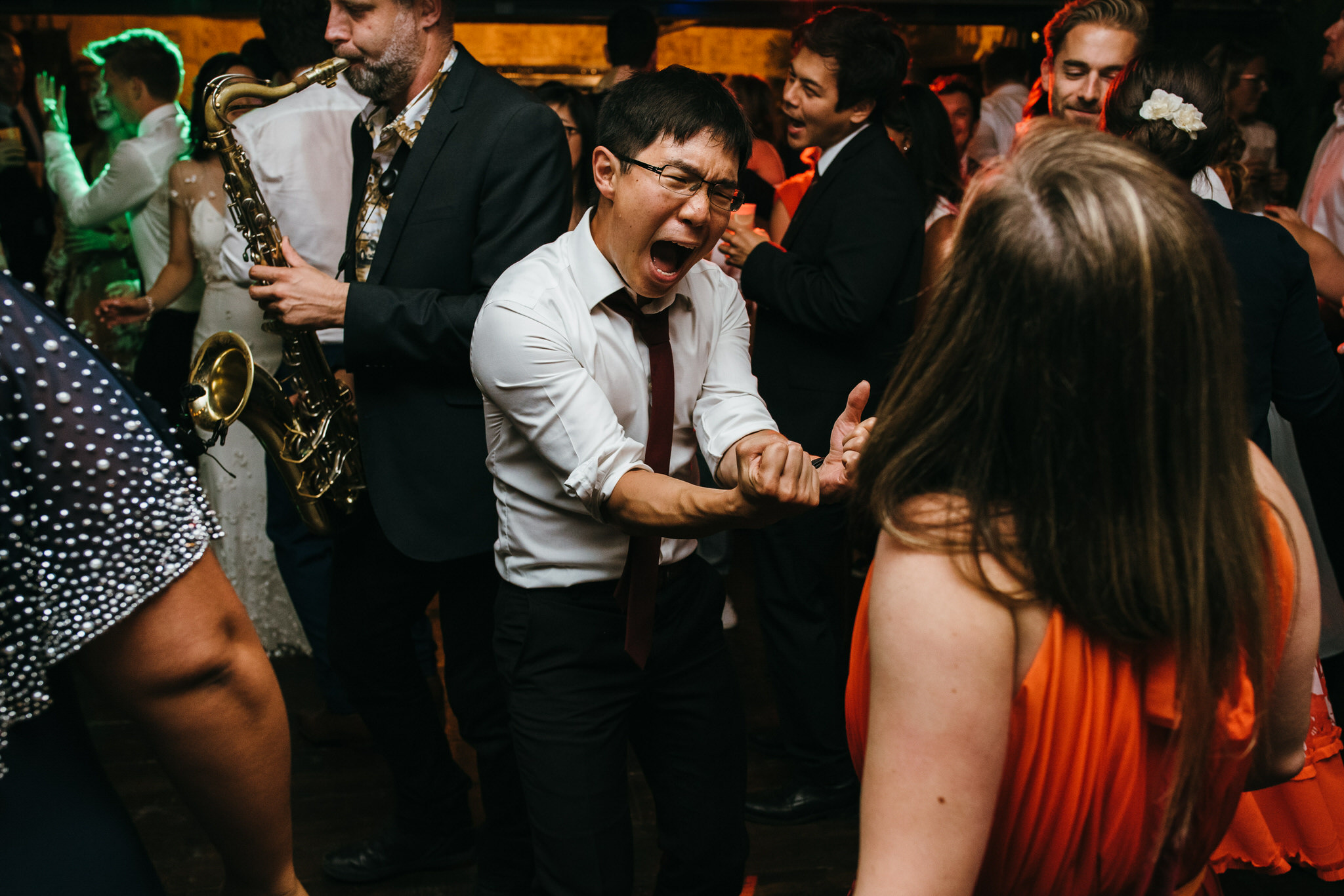 The dreys kent wedding dance floor