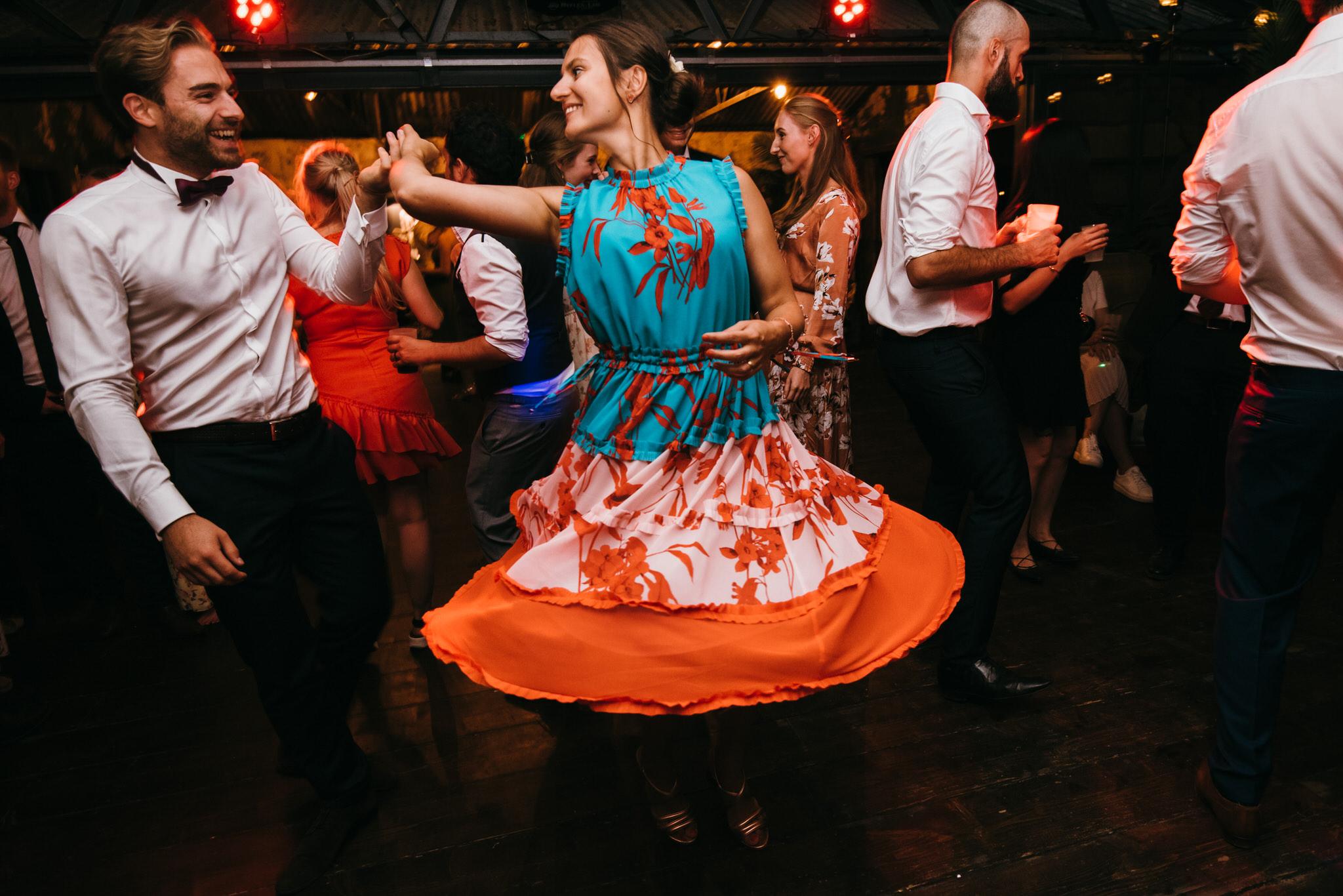 The dreys wedding dancing